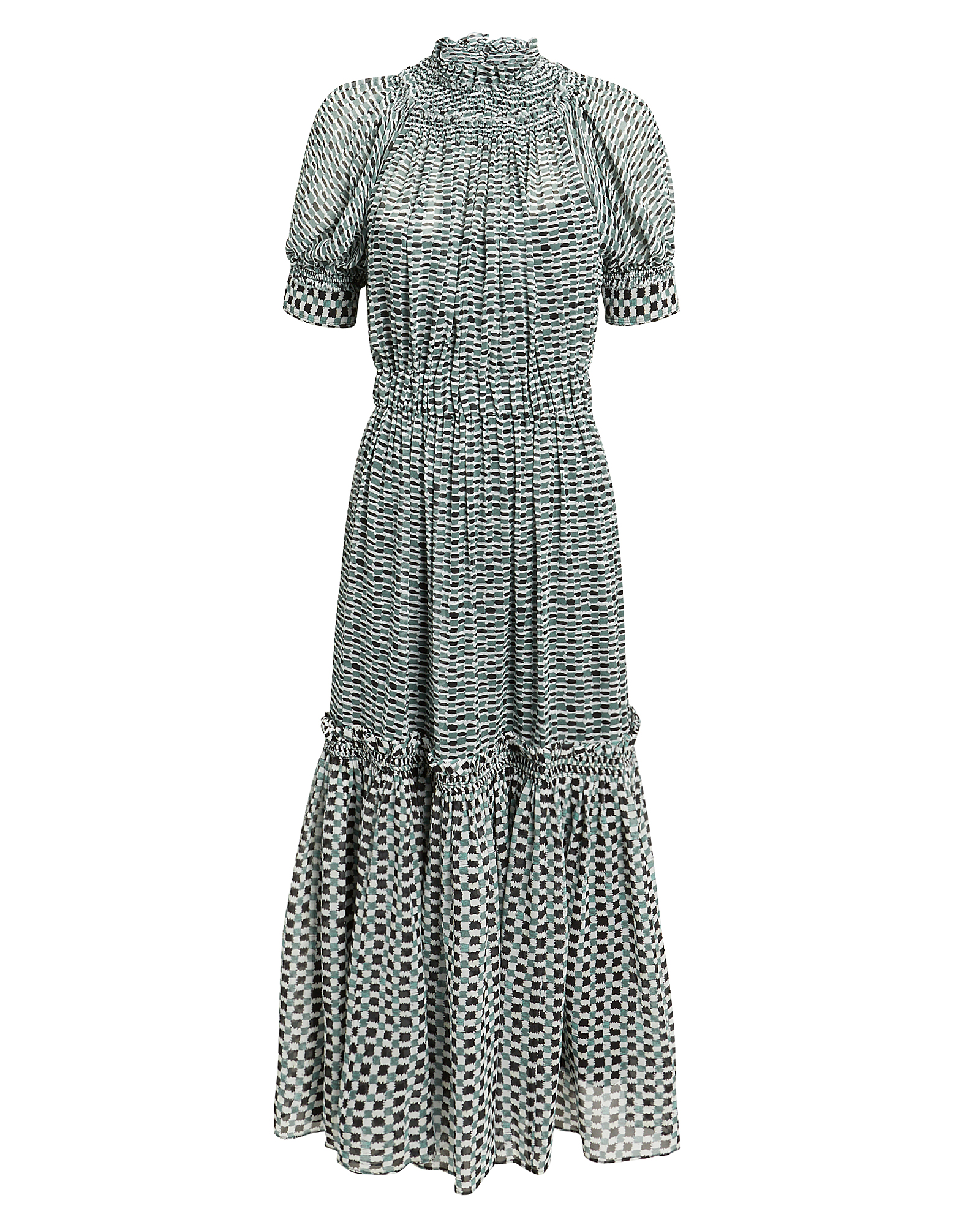 Proenza Schouler Printed Midi Dress