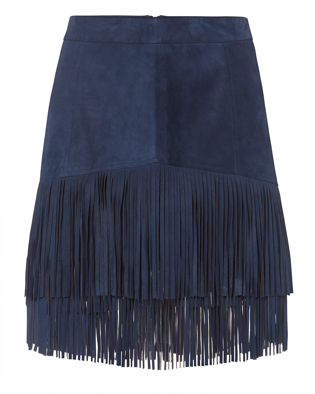 EXCLUSIVE FOR INTERMIX Maris Fringe Suede Skirt