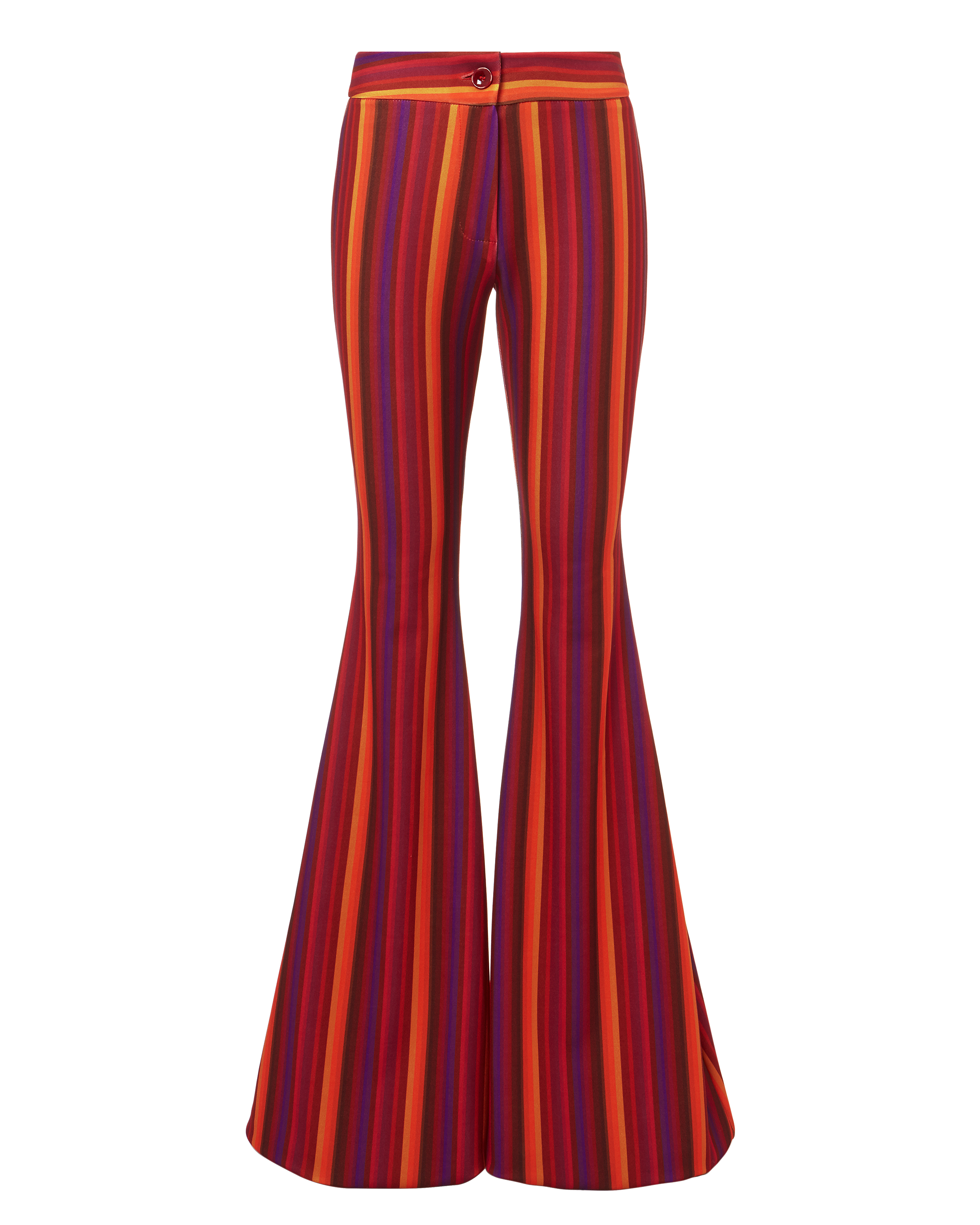 Woodstock Striped Flare Pants by C'est La V
