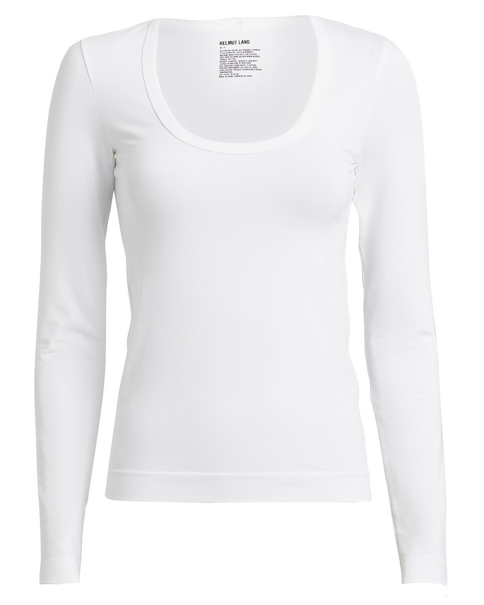 Helmut Lang T-shirts HELMUT LANG SEAMLESS LONG SLEEVE T-SHIRT