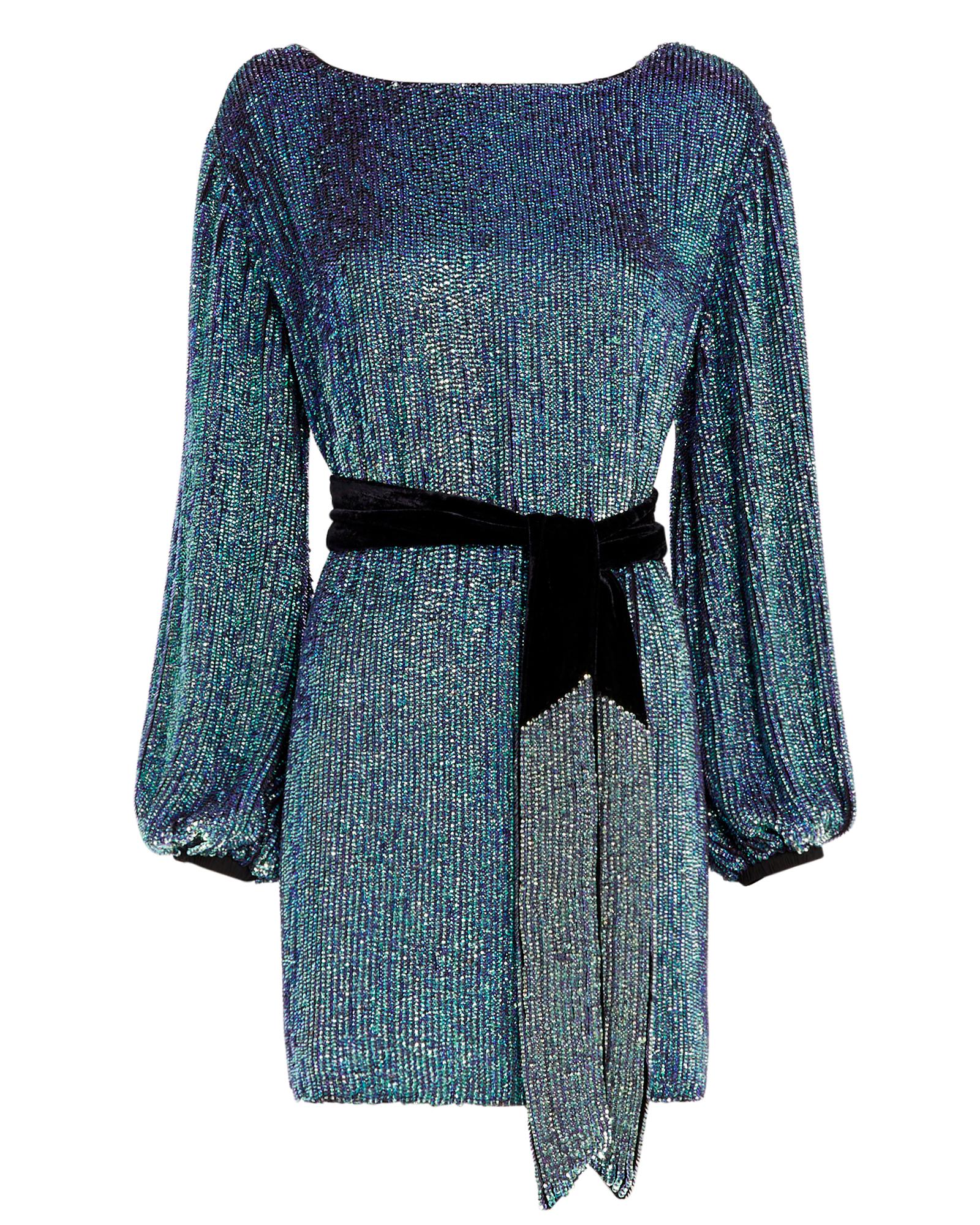 Retroféte Grace Sequin Mini Dress
