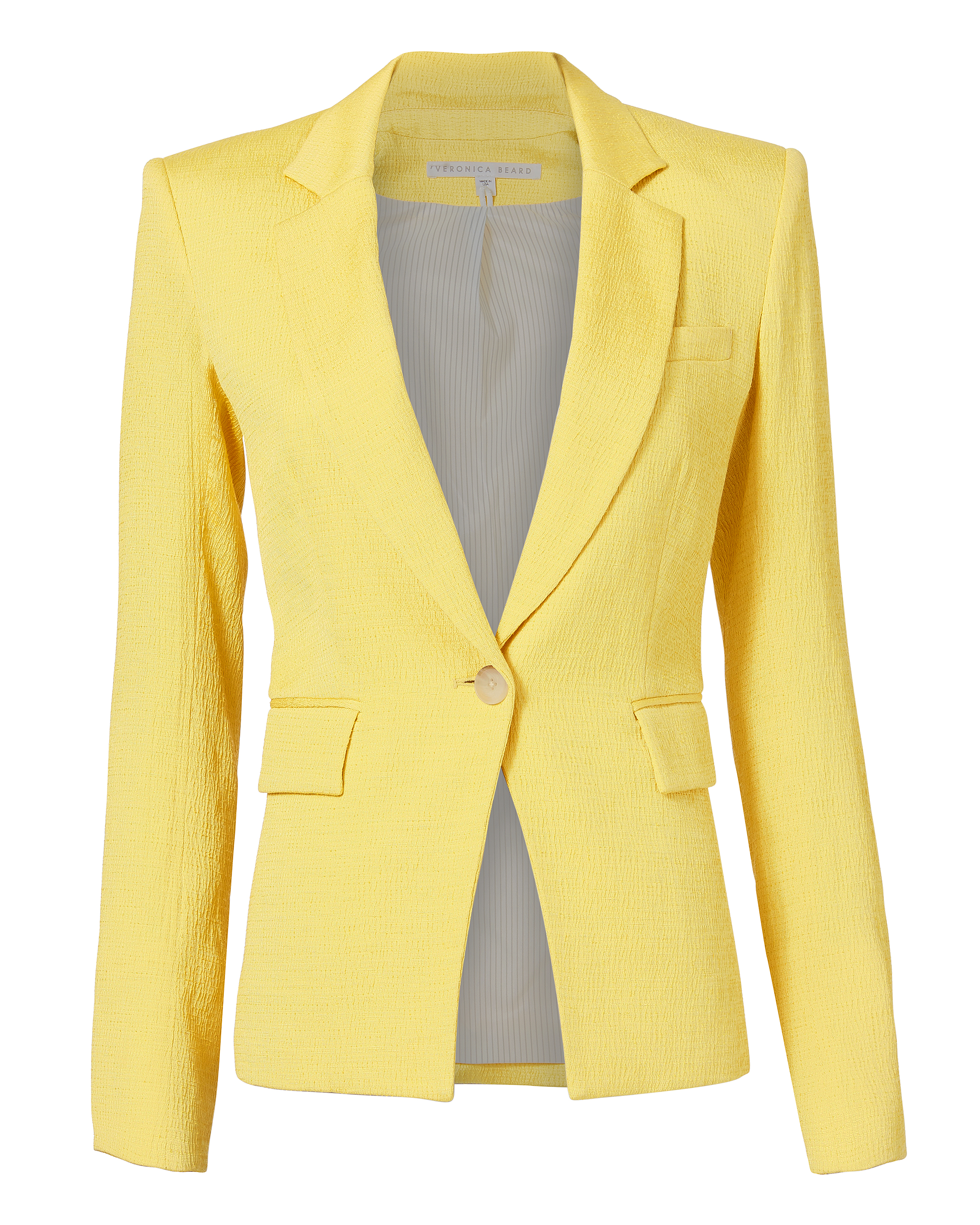 Bentley Lace Up Back Jacket by Veronica Beard
