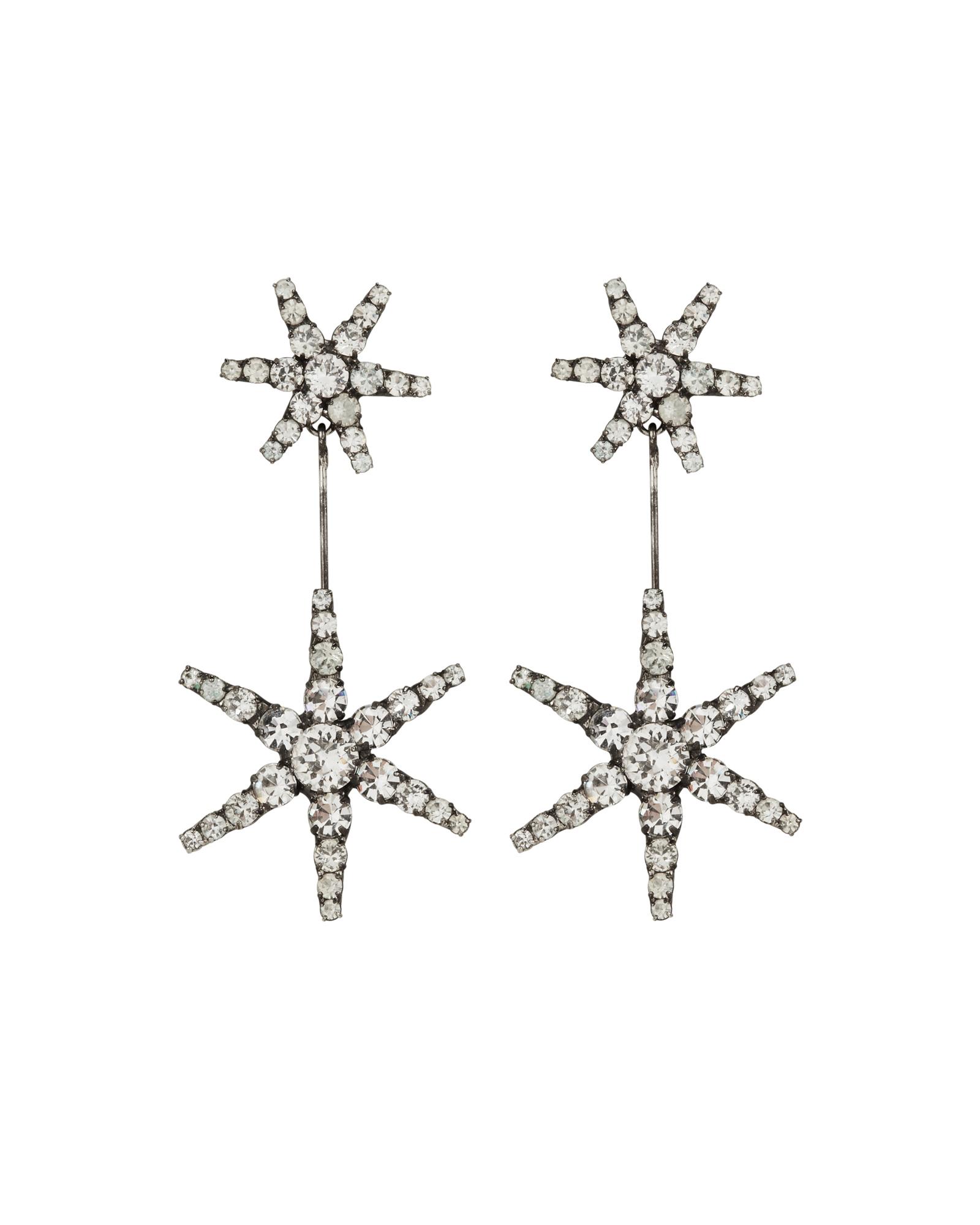 Estee Crystal Drop Earrings by Jennifer Behr