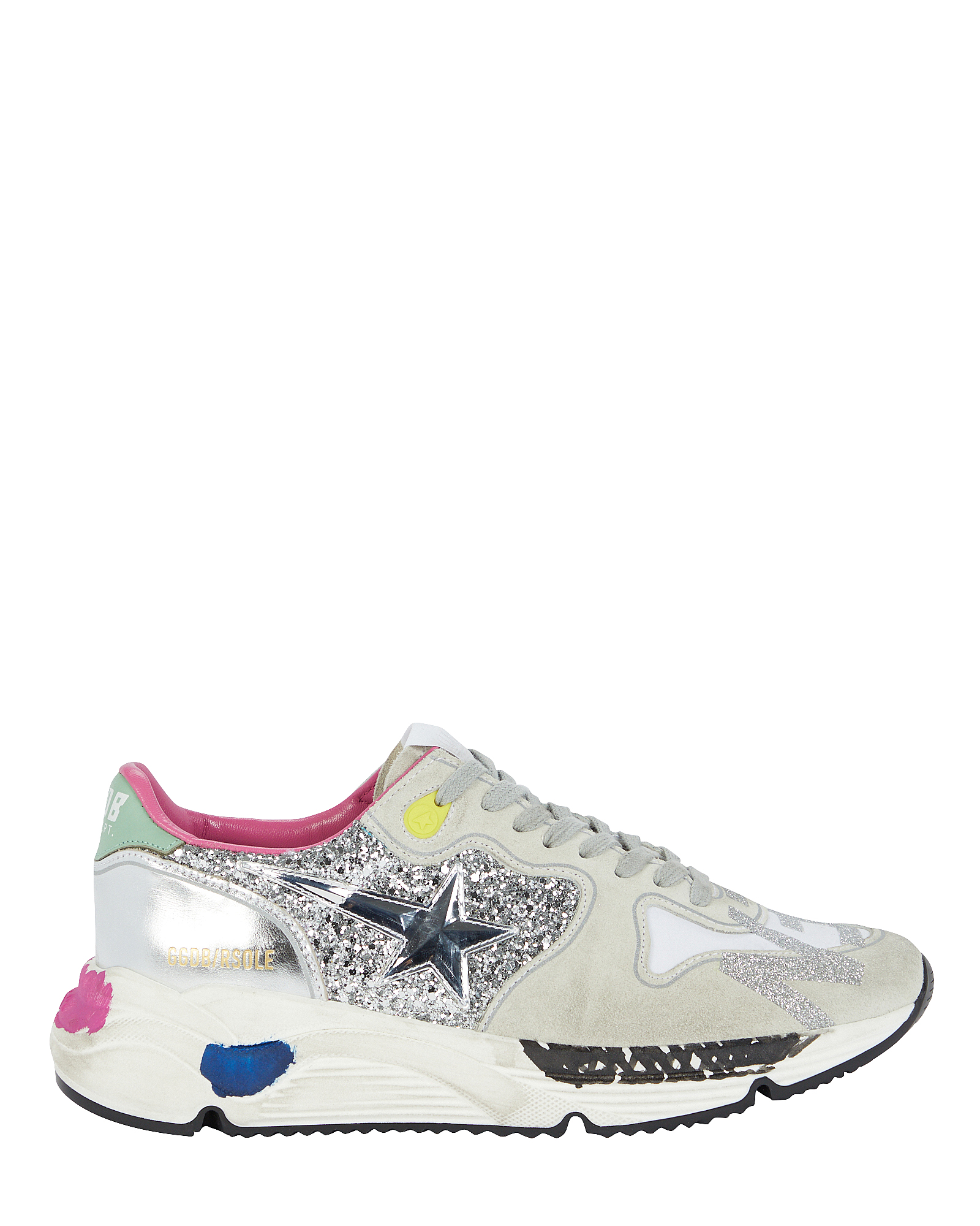 Golden Goose Running Sole Leather