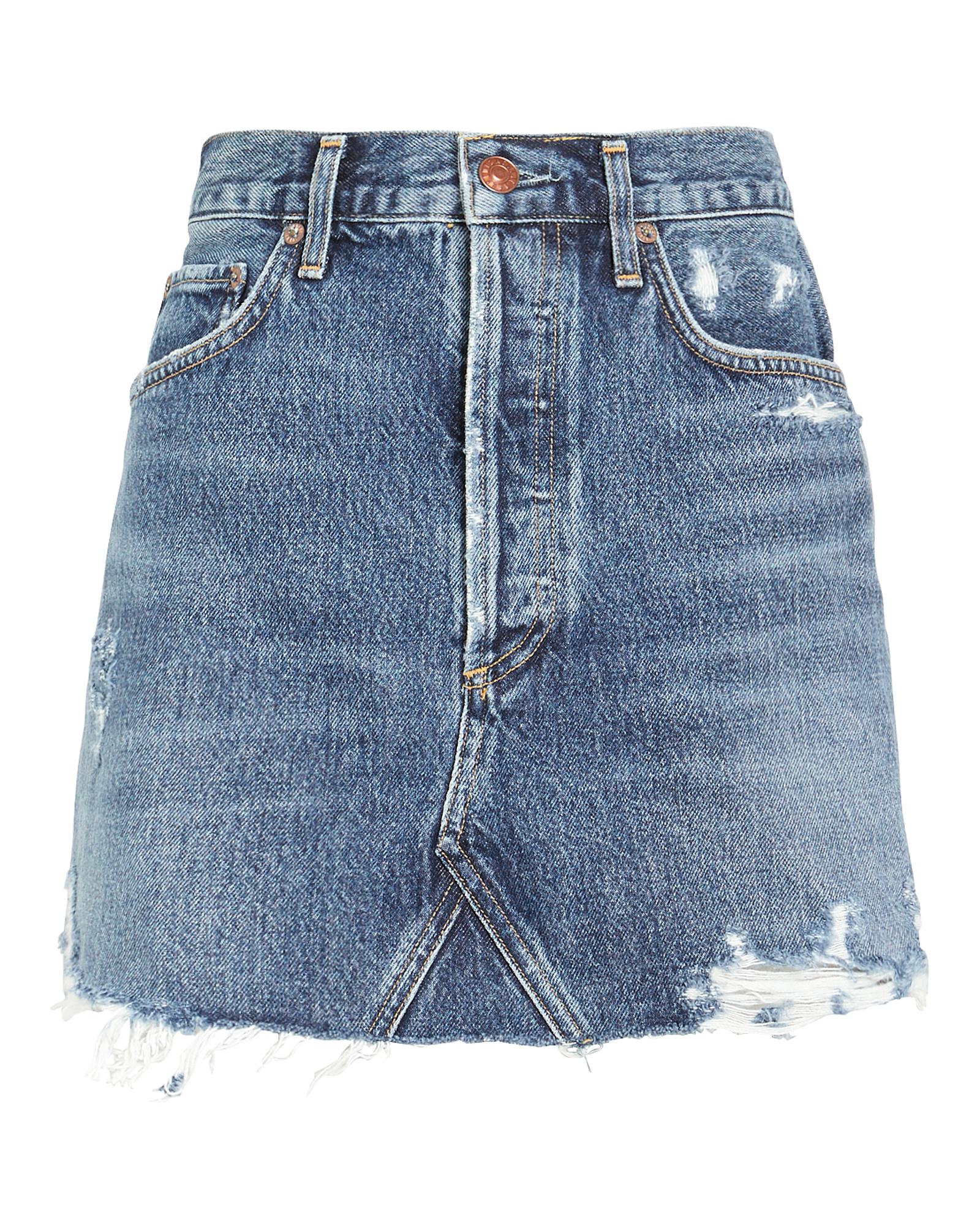 Agolde Skirts Quinn High-Rise Denim Skirt