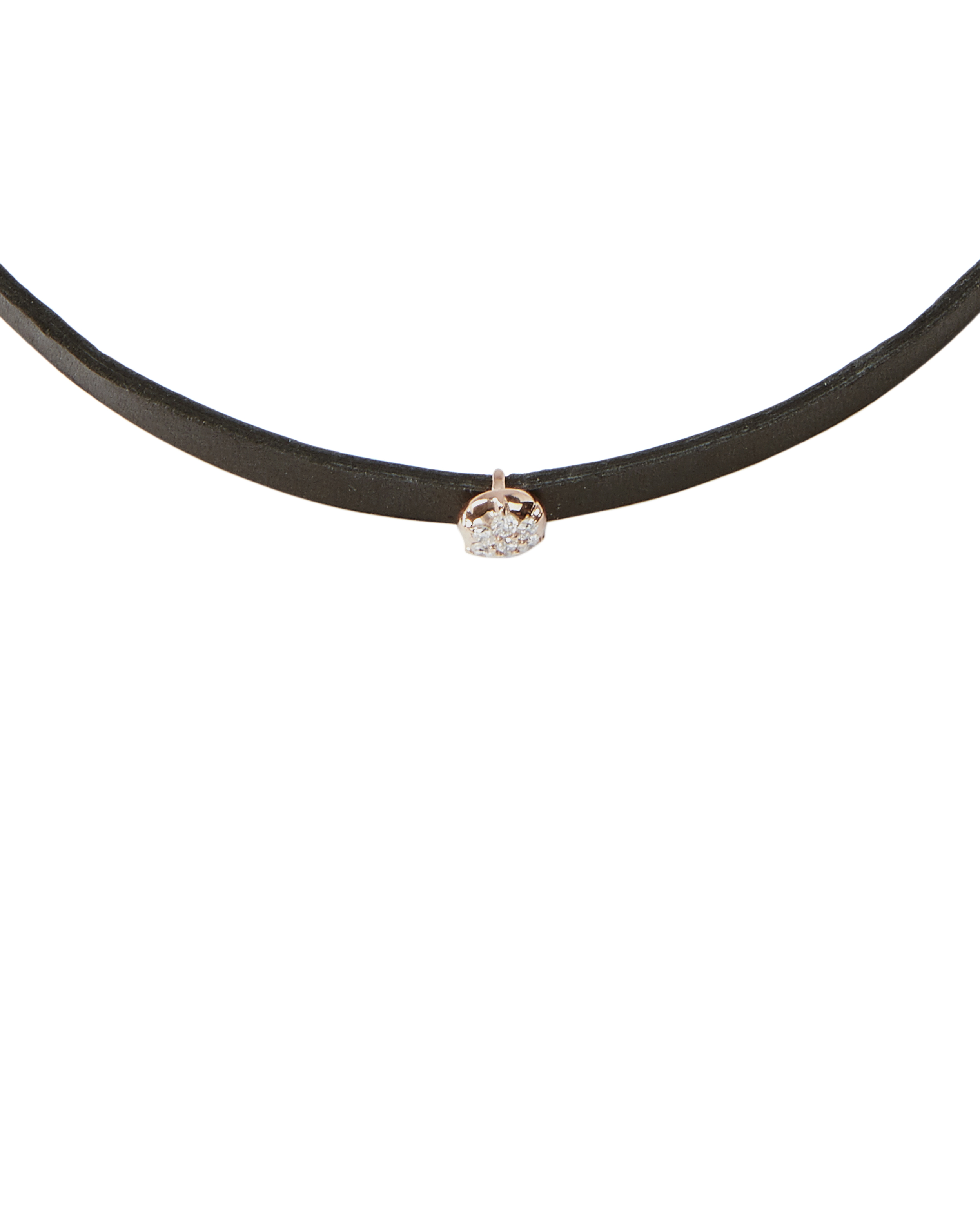 Carbon & Hyde Crown Hyde Choker in Metallics DSbs3