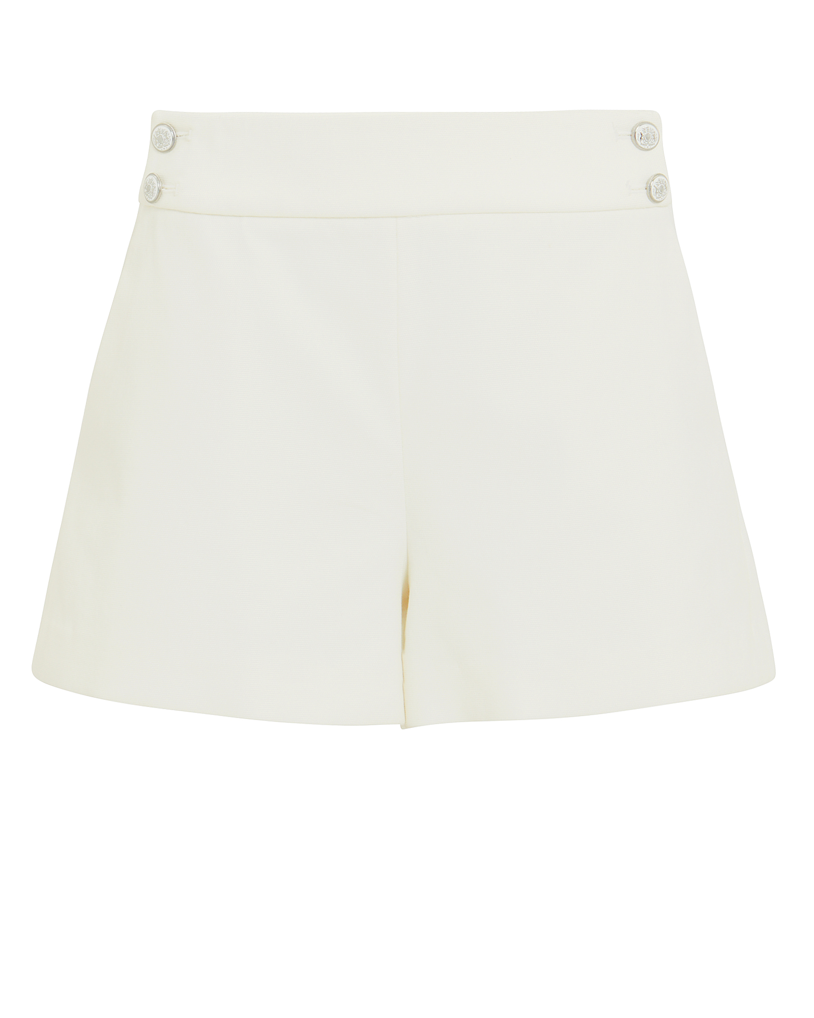 Veronica Beard Shorts VERONICA BEARD KIMM TAILORED SHORTS  IVORY ZERO