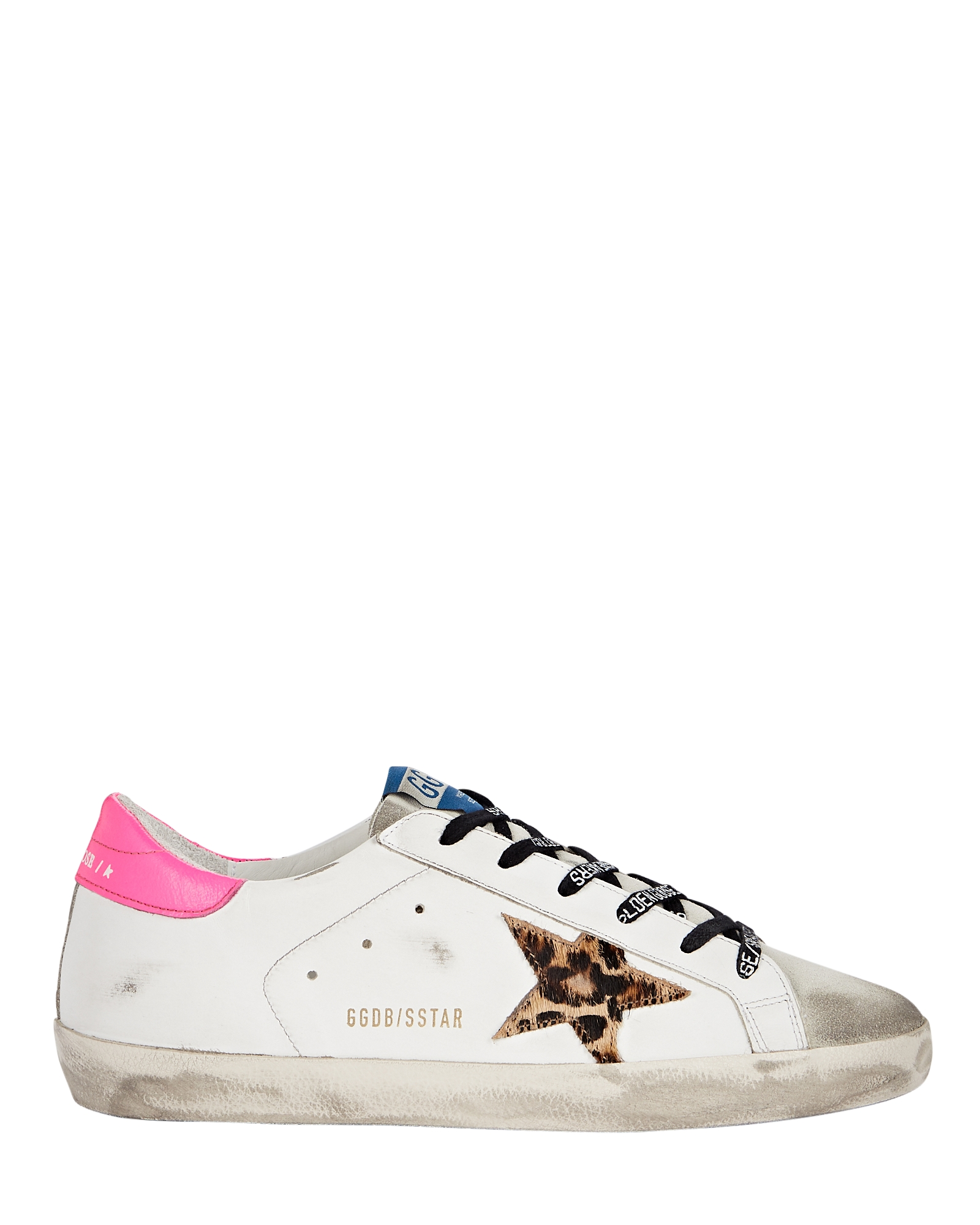 Golden Goose GOLDEN GOOSE SUPERSTAR LEATHER LOW-TOP SNEAKERS