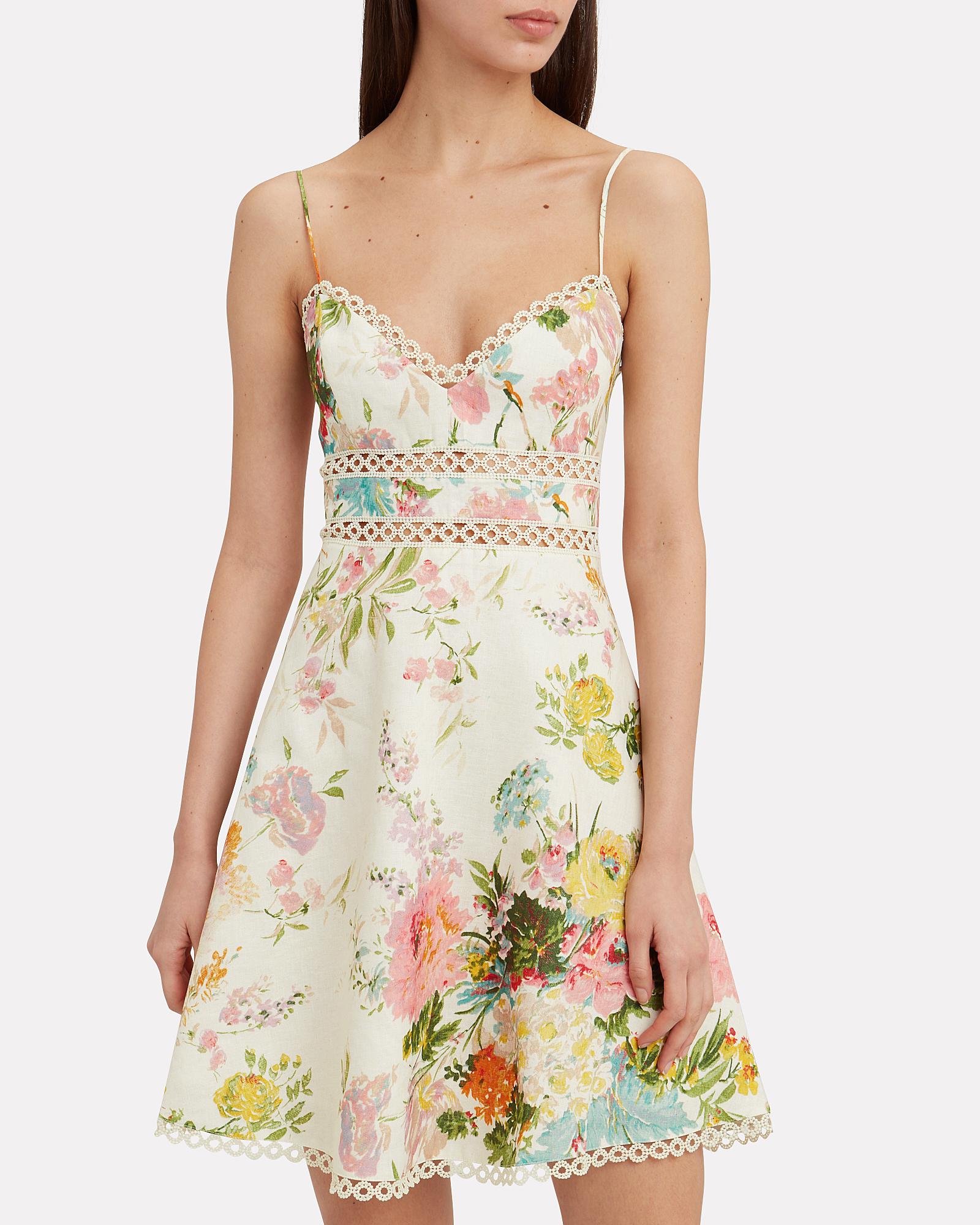 2f140c7552c36 ... Heathers Garden Floral Dress, MULTI, hi-res ...
