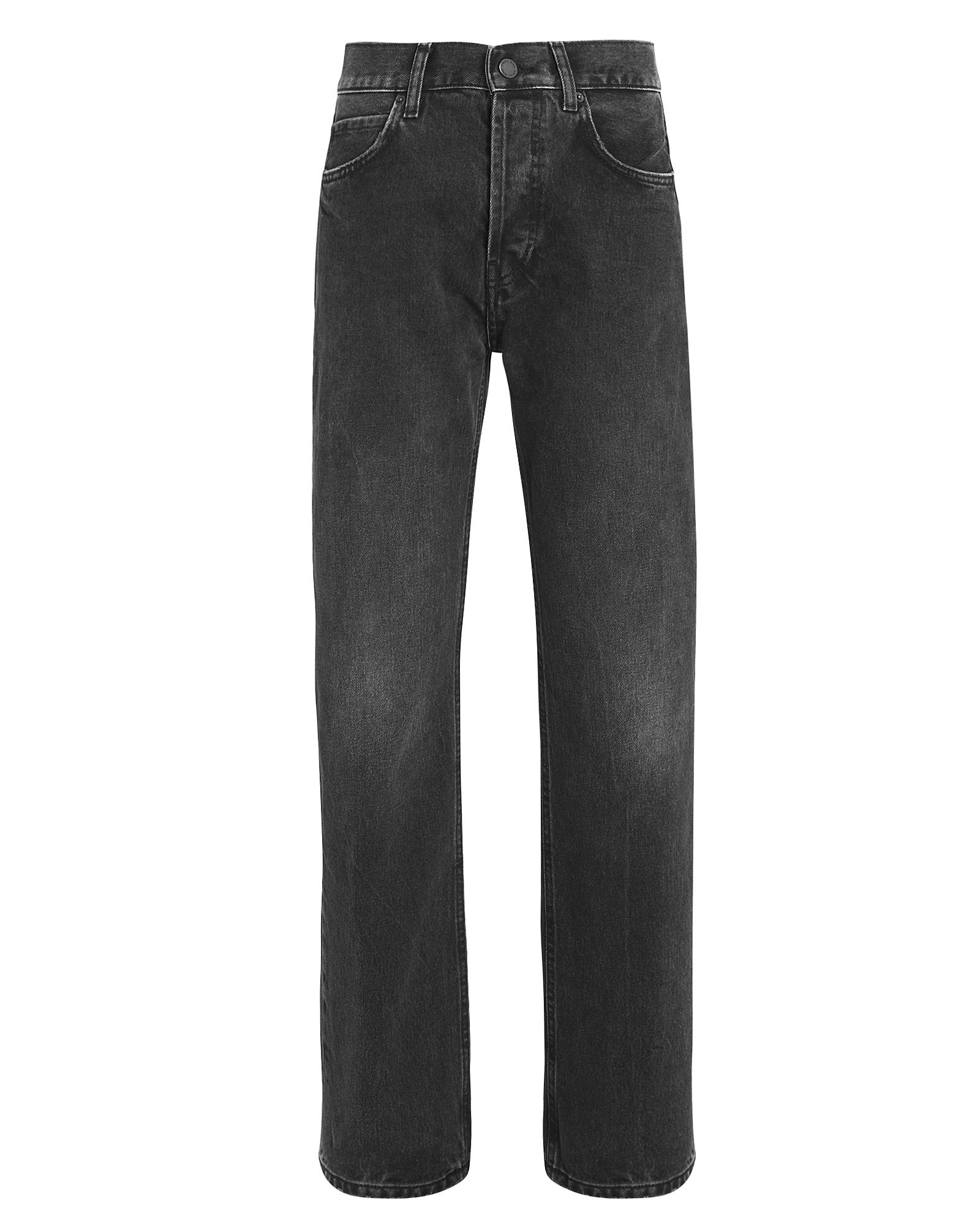 Anine Bing Jeans ANINE BING JACKIE STRAIGHT LEG JEANS  VINTAGE BLACK 25