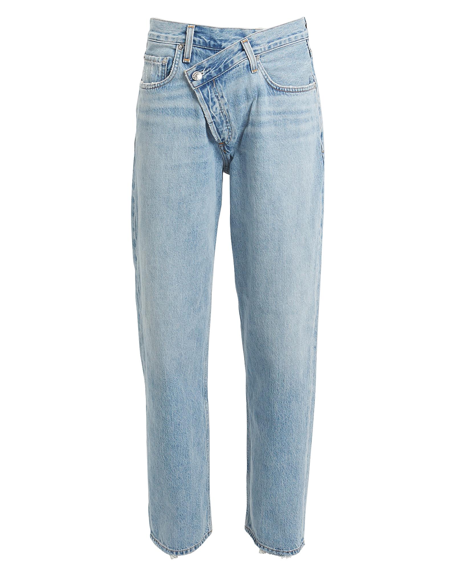 Criss Cross Upsized Jeans by Agolde