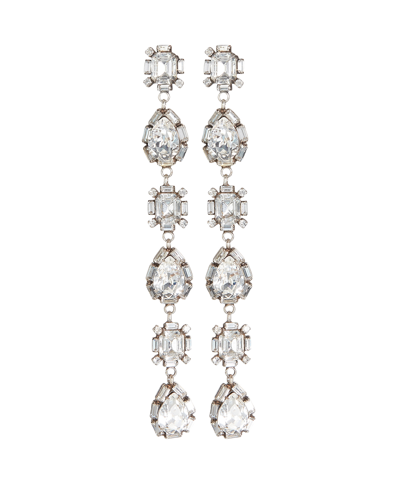Dannijo Accessories DANNIJO JODES DROP CRYSTAL EARRINGS