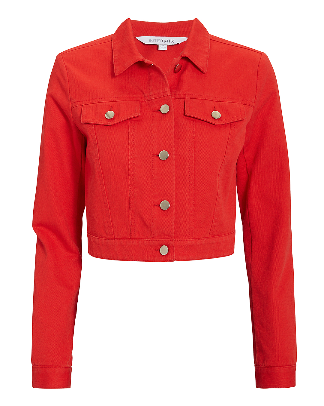 EXCLUSIVE FOR INTERMIX Kennedy Red Denim Jacket