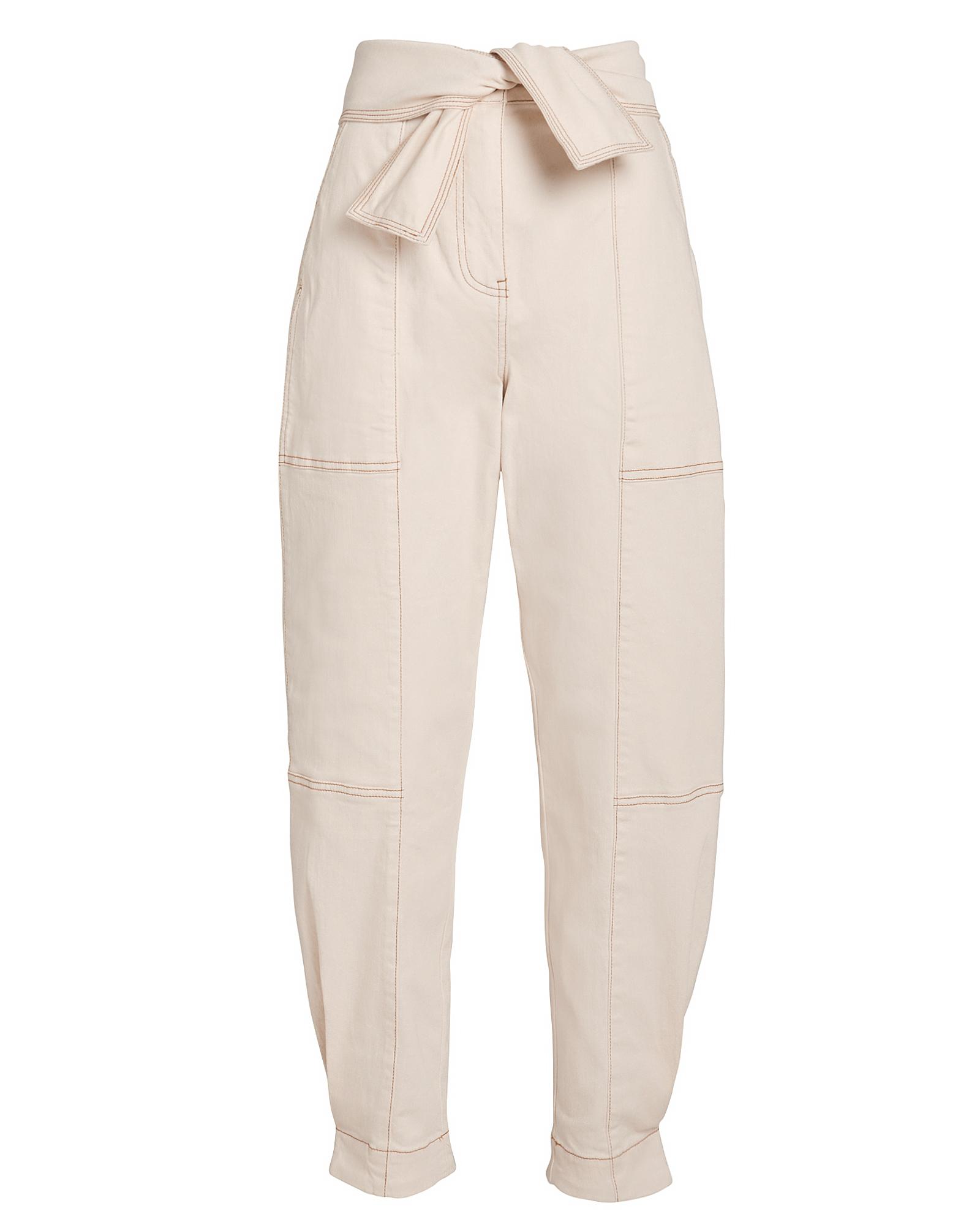 Storm Cargo Tie Waist Jeans by Ulla Johnson