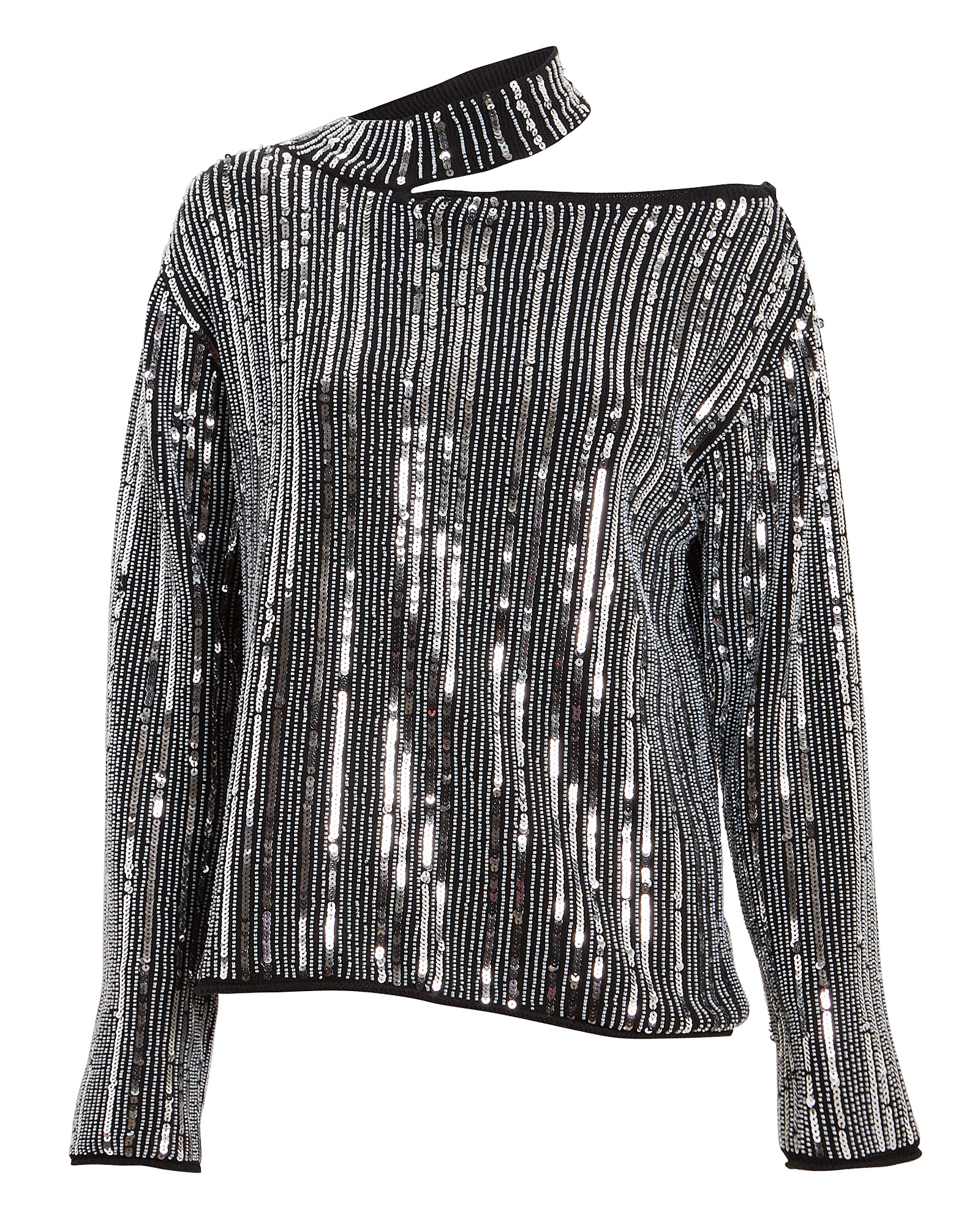 Rta Sweaters RTA LANGLEY SEQUIN CUT-OUT SWEATER