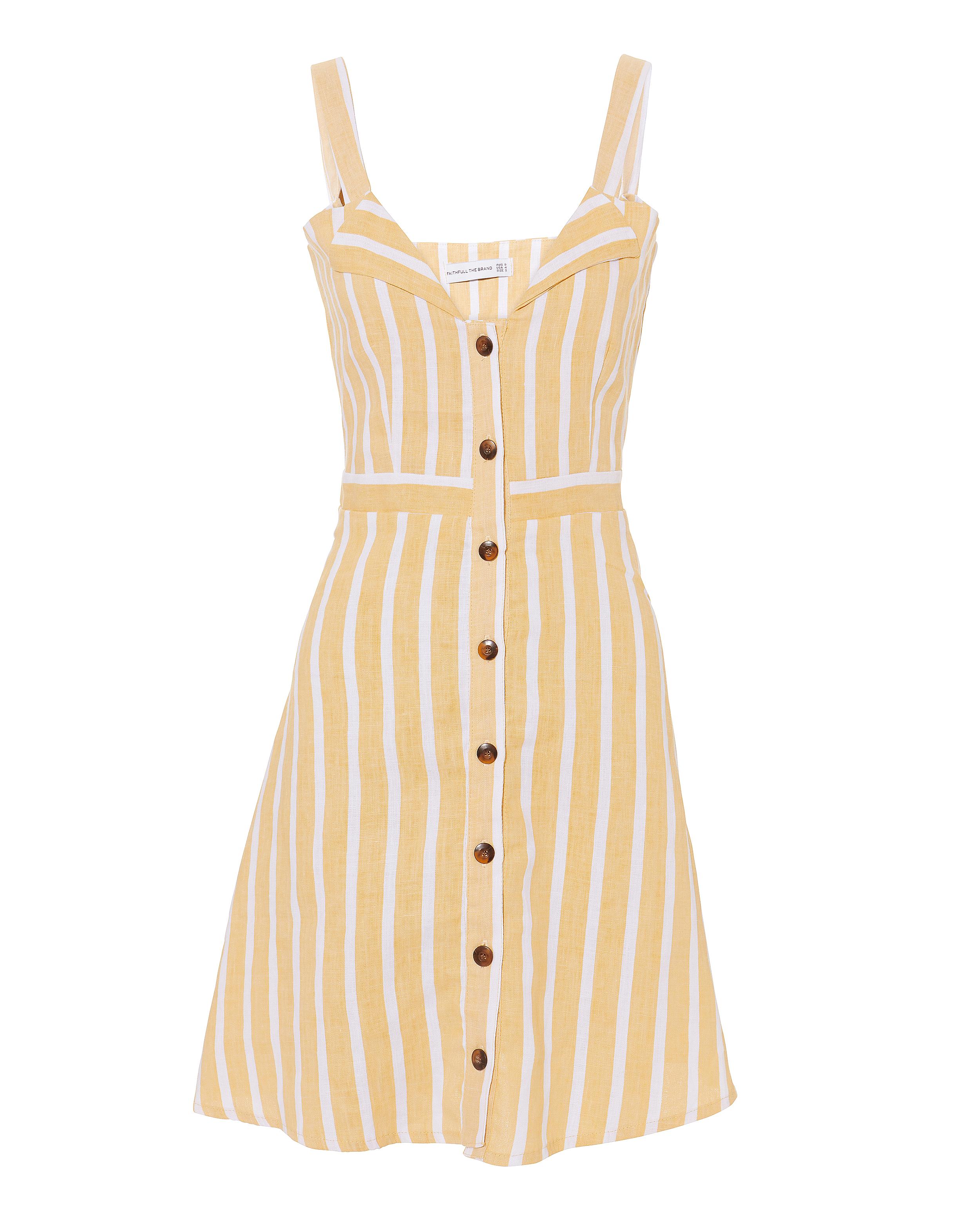 Le Petite Button Front Dress