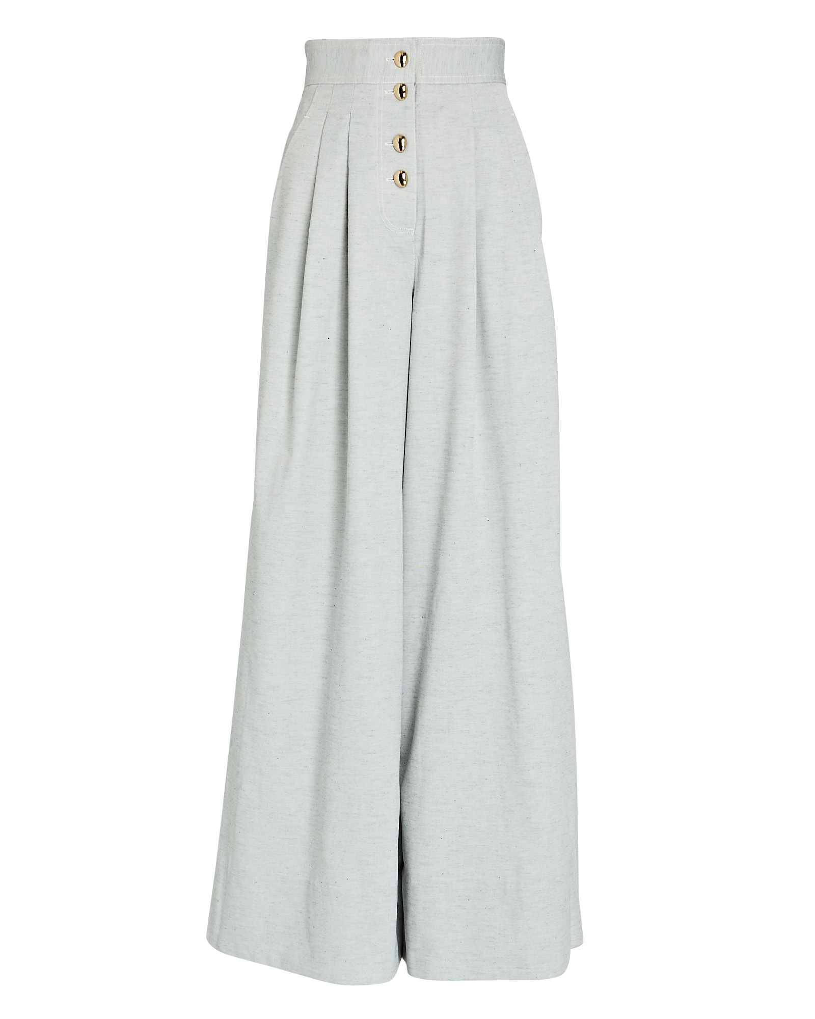 Acler ACLER PARKWAY PLEATED WIDE-LEG PANTS