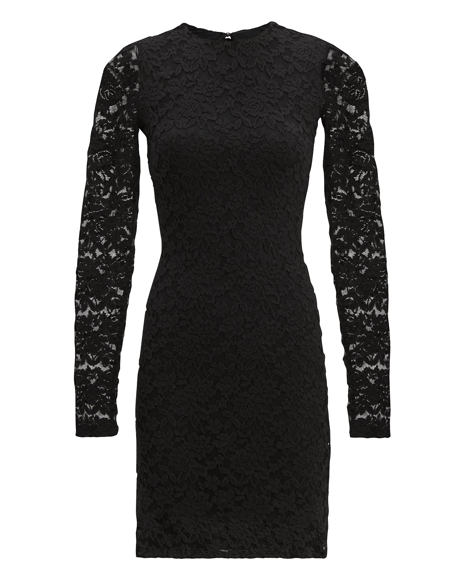NIGHTCAP CLOTHING Black Sweater Lace Dress