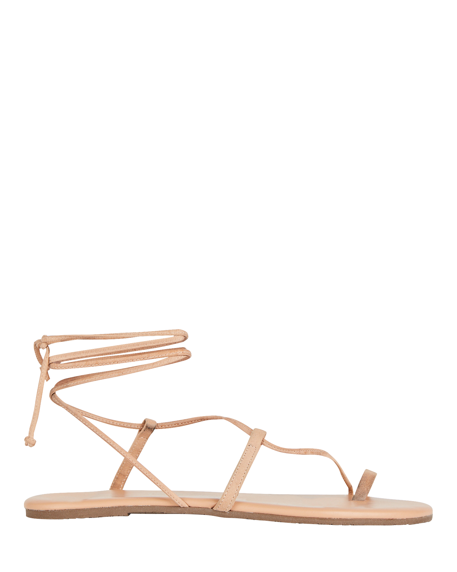 Tkees Jo Leather Lace-Up Sandals