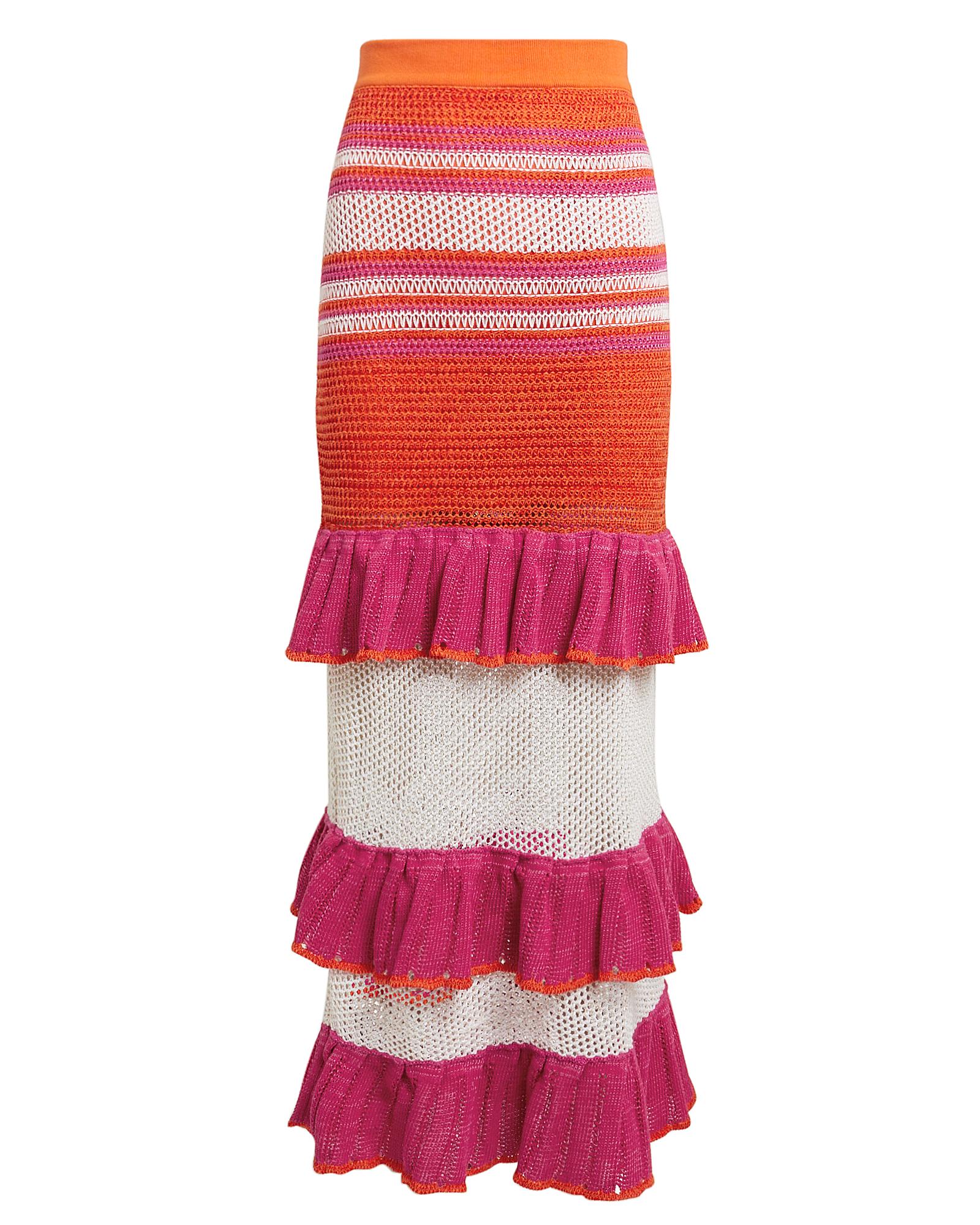 Suboo  Carmen Ruffle Midi Skirt