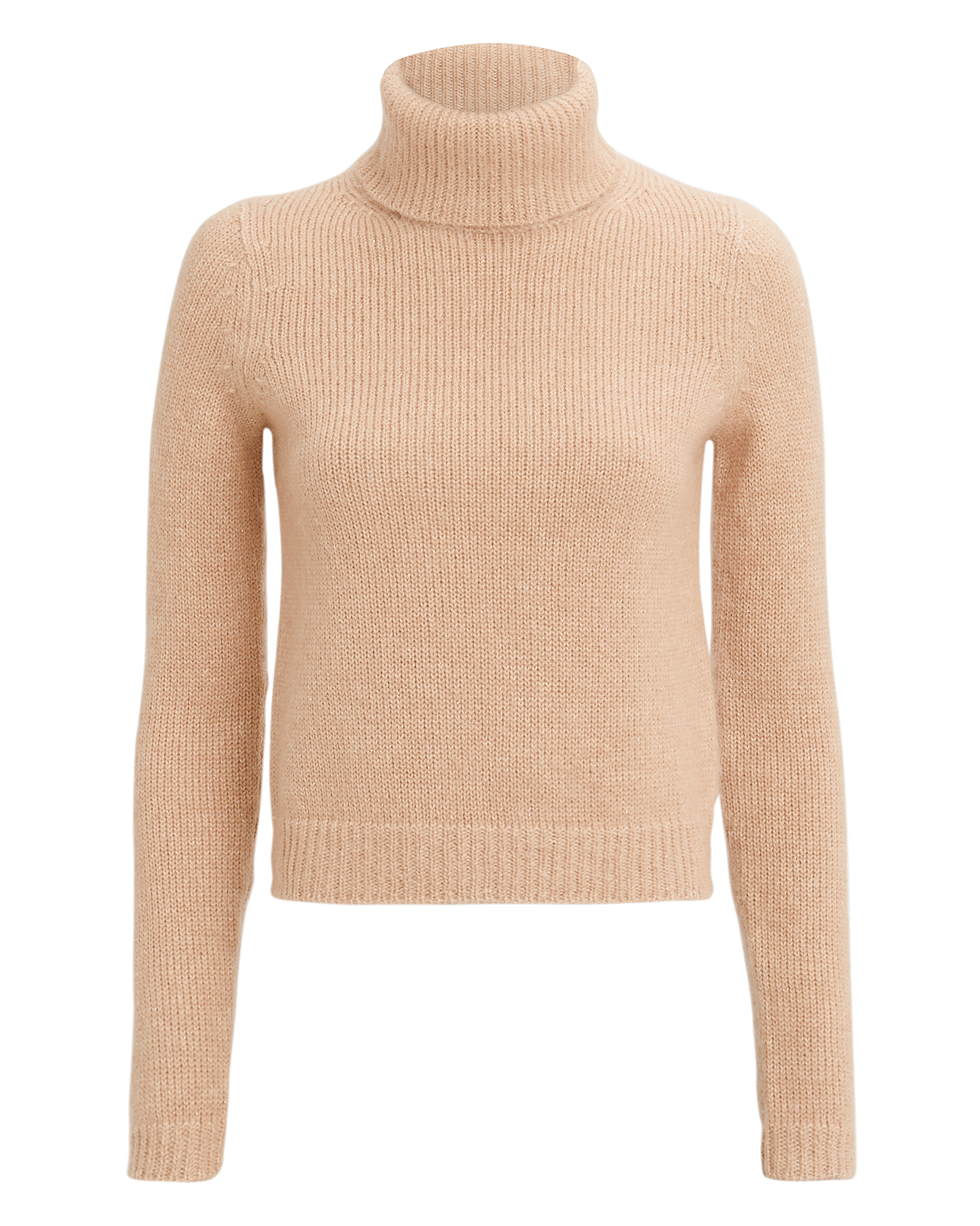 EXCLUSIVE FOR INTERMIX Intermix Alma Turtleneck Weater Beige