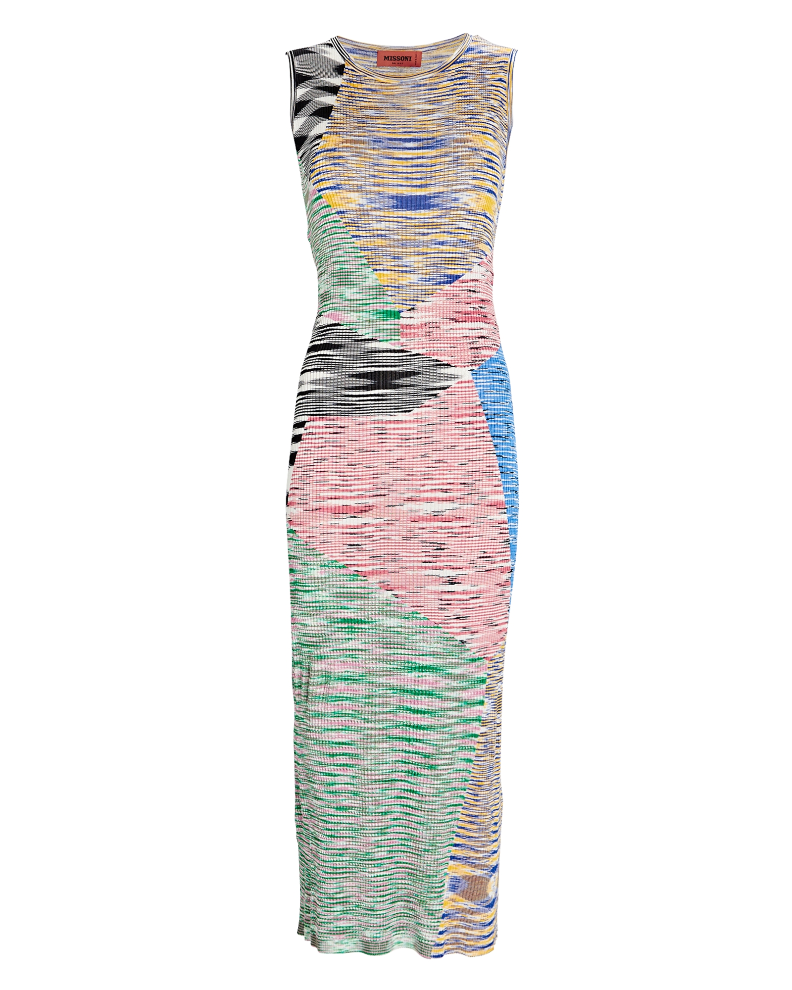 Missoni Space Dye Knit Midi Dress