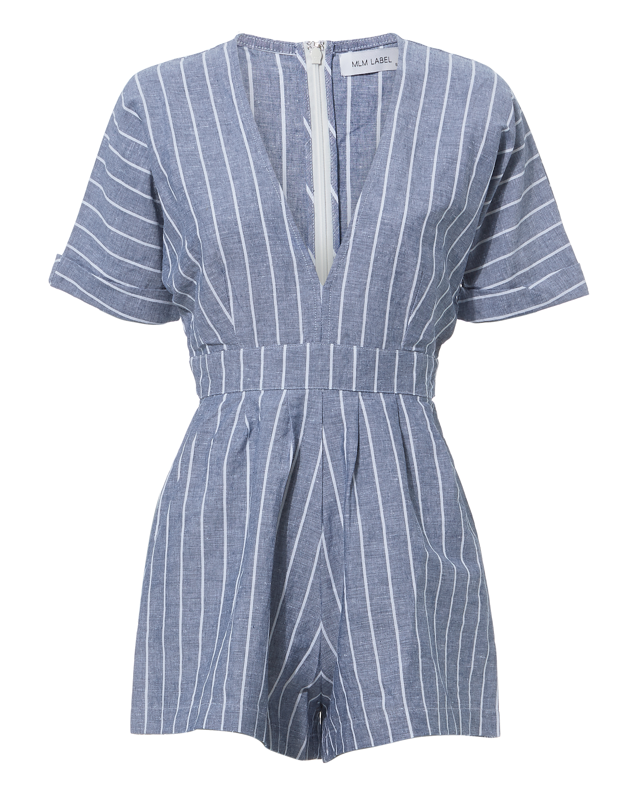 Zion Striped Romper by Mlm The Label