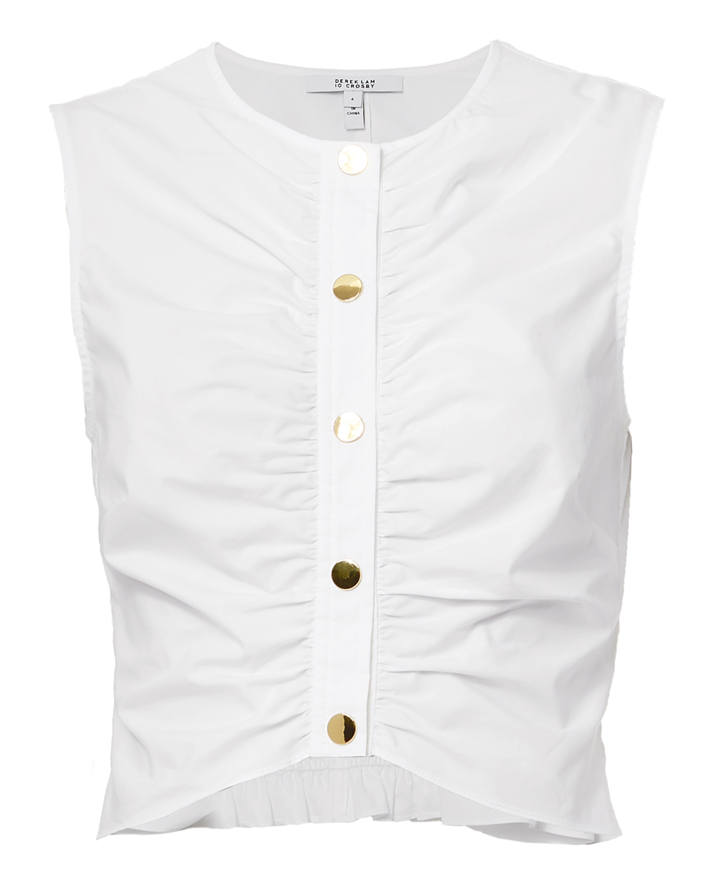 10 CROSBY Ruched Top