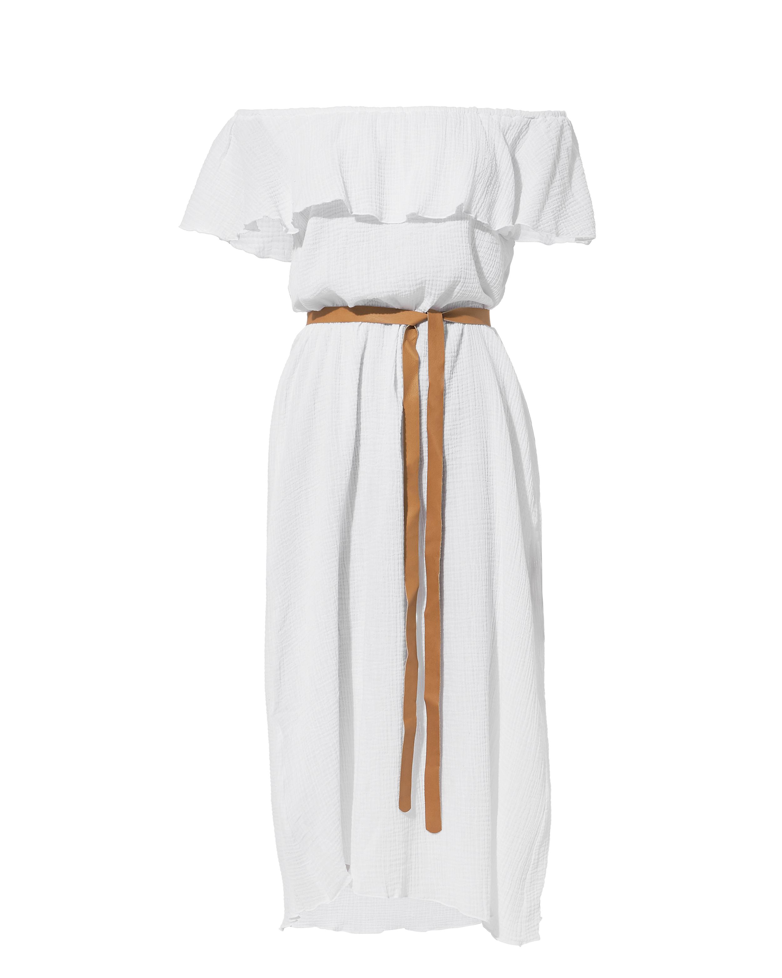 Nomad Florence Off Shoulder Dress by Eberjey