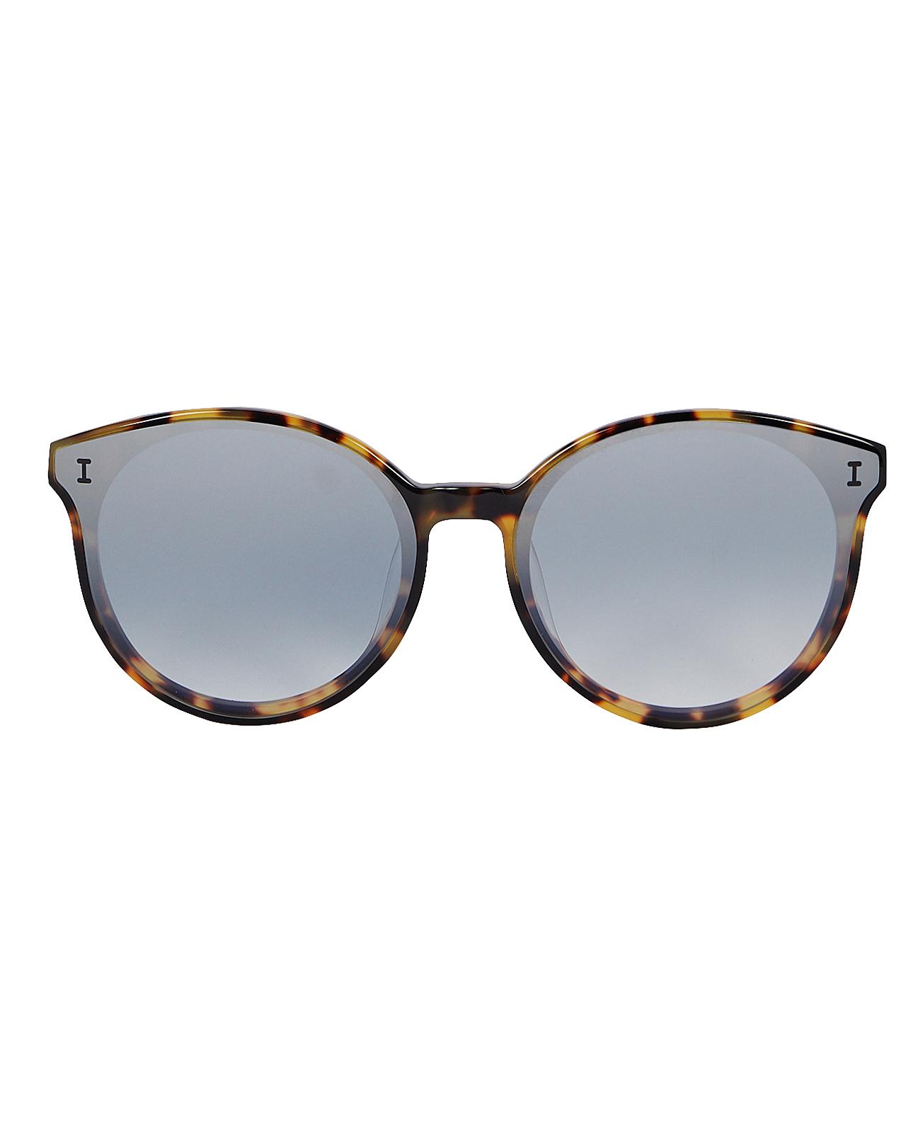Illesteva Sunglasses ILLESTEVA HELEN OVERSIZED CAT EYE SUNGLASSES