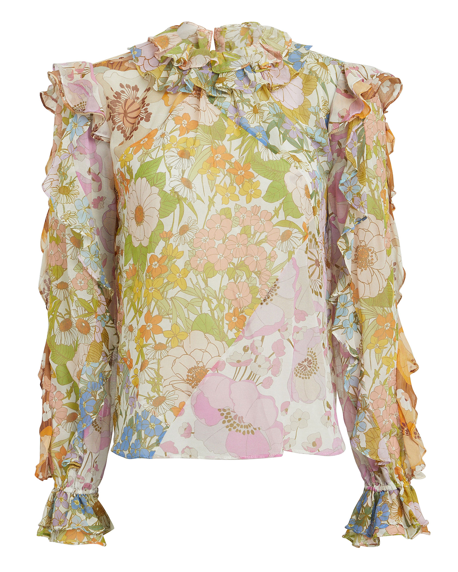 Super Eight Floral Blouse by Zimmermann