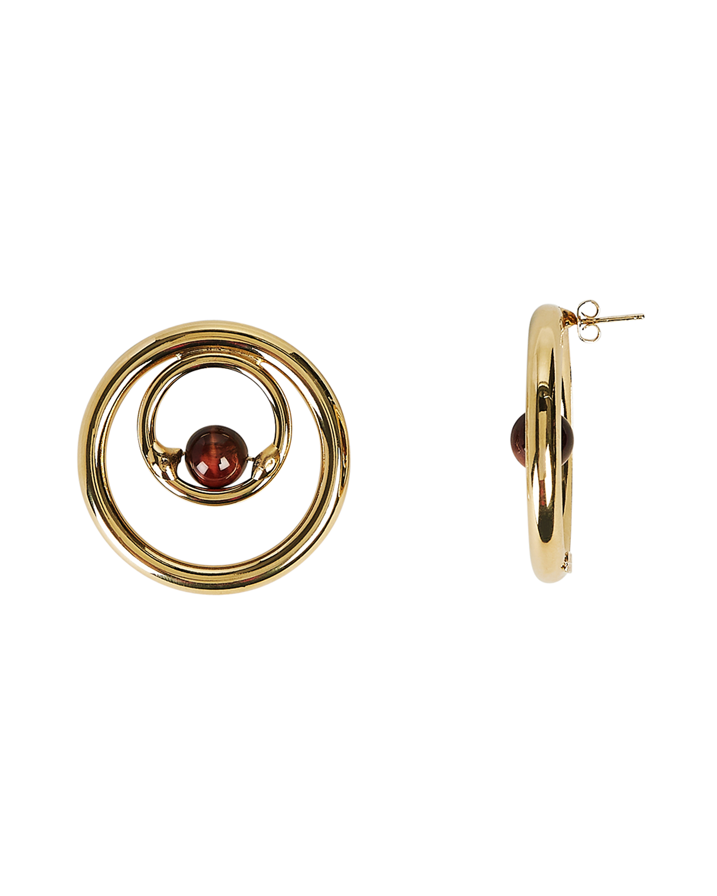 ROSANTICA Passato Hoop Earrings