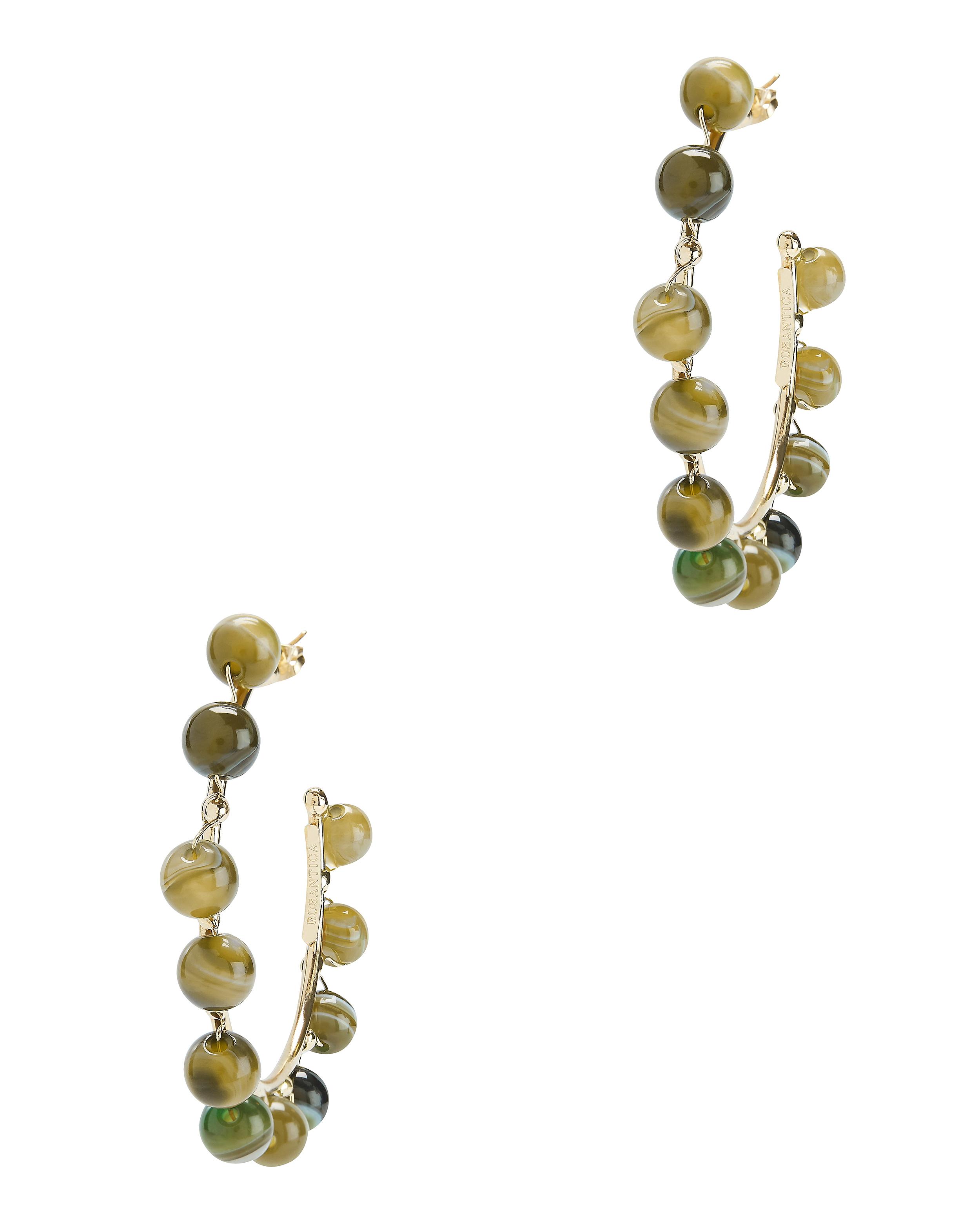 Dada Gold Hoop Earrings