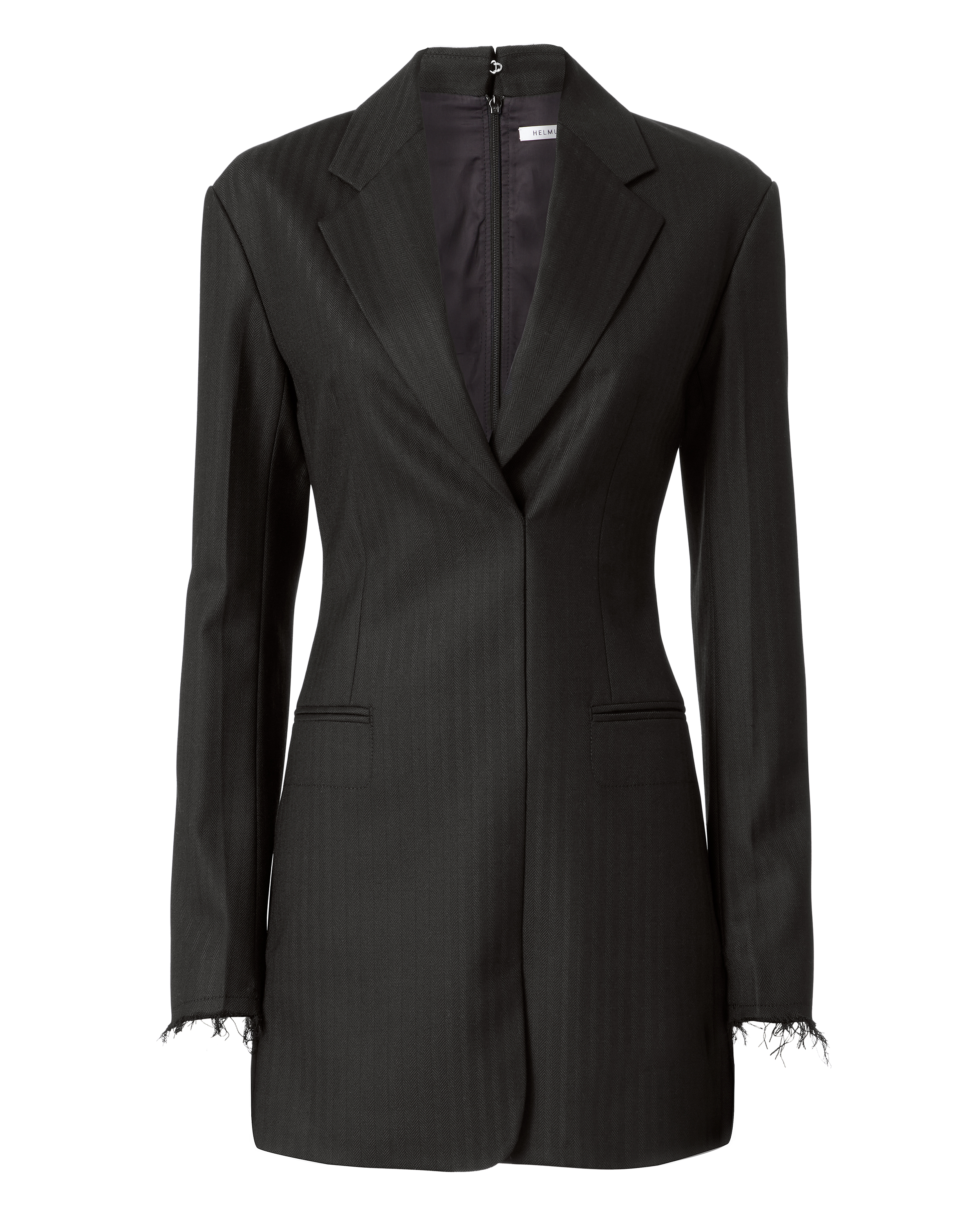 Herringbone Blazer Dress by Helmut Lang