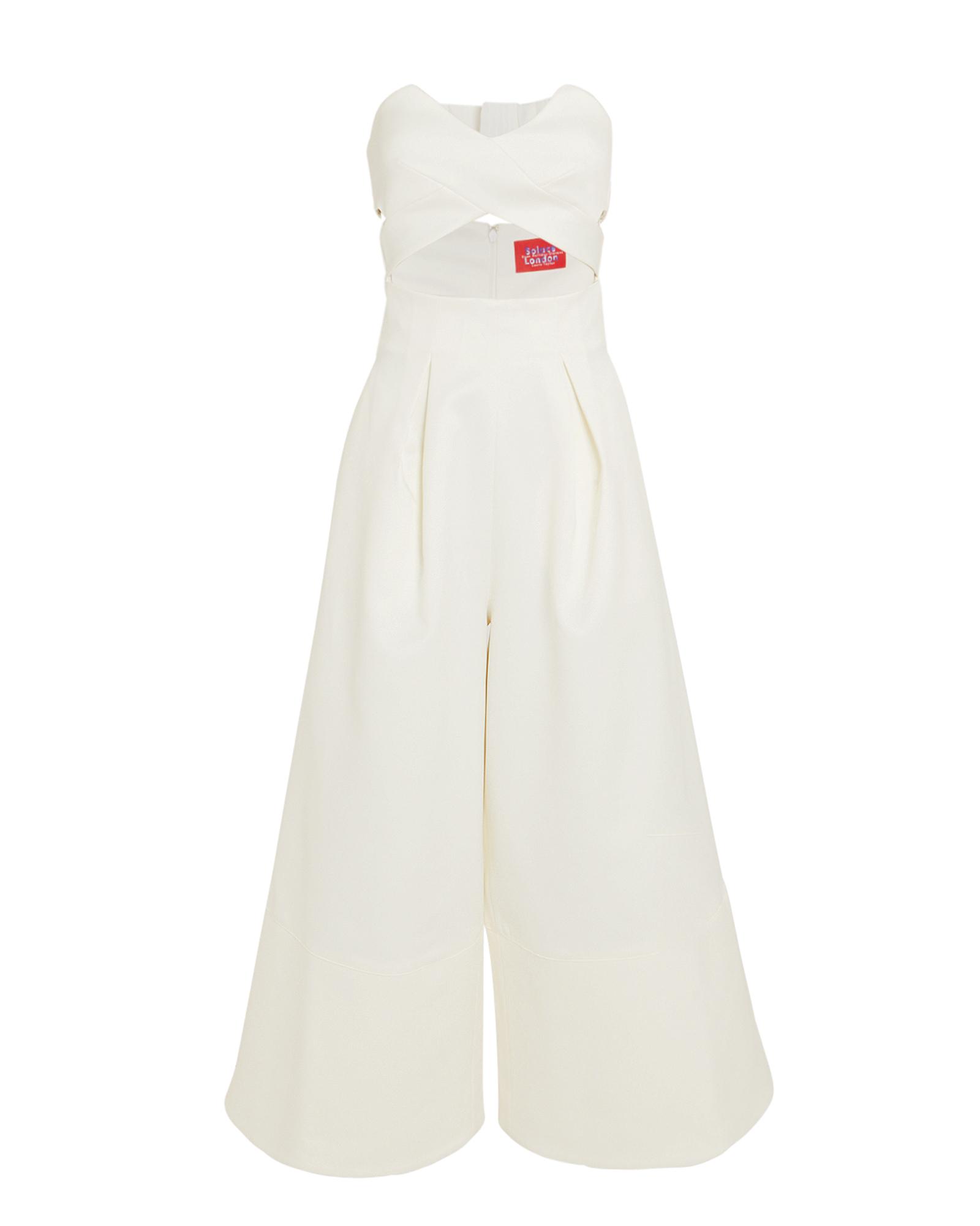 Solace London Suits Divine Strapless Jumpsuit