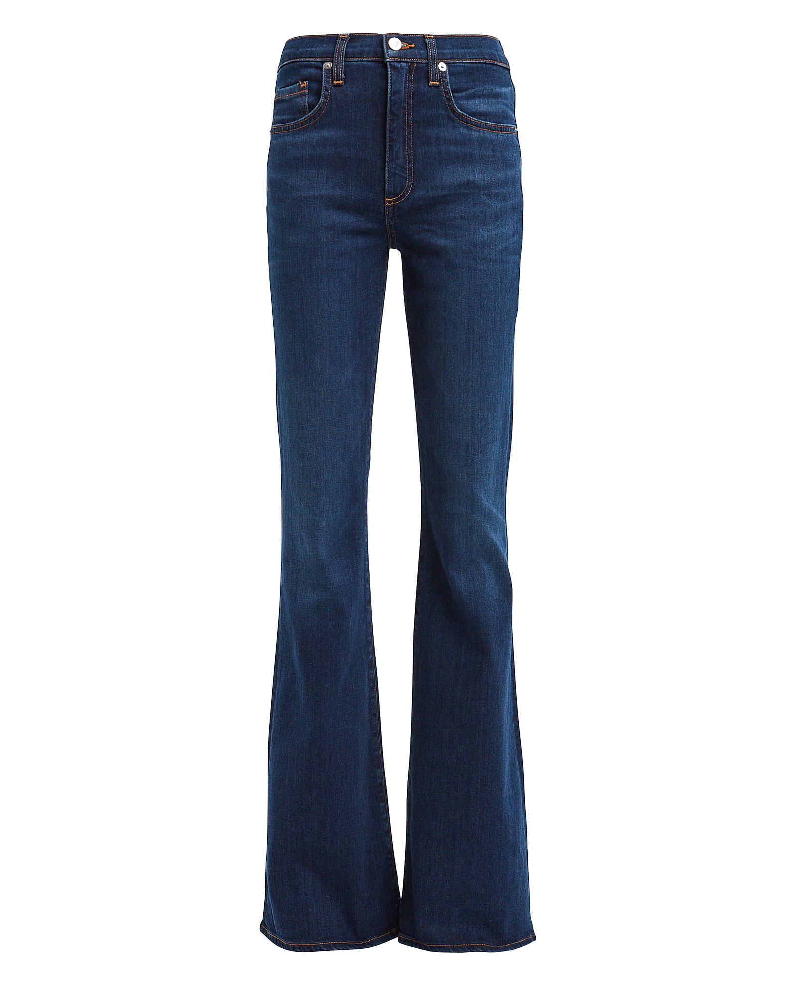 Veronica Beard Jeans VERONICA BEARD BEVERLY FLARED HIGH-RISE JEANS