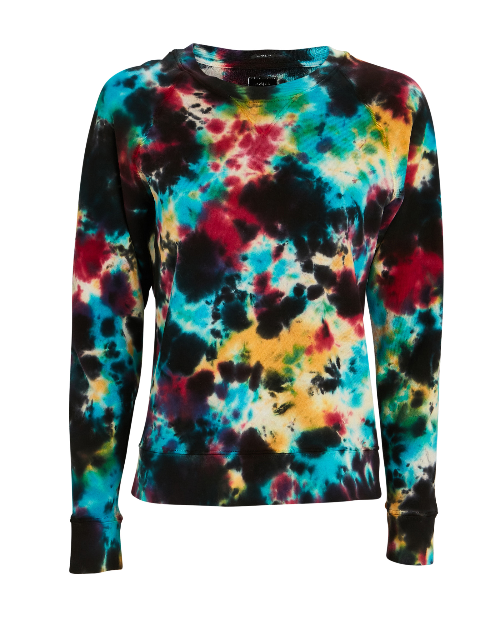 Mother Denims MOTHER THE SQUARE TIE-DYED SWEATSHIRT