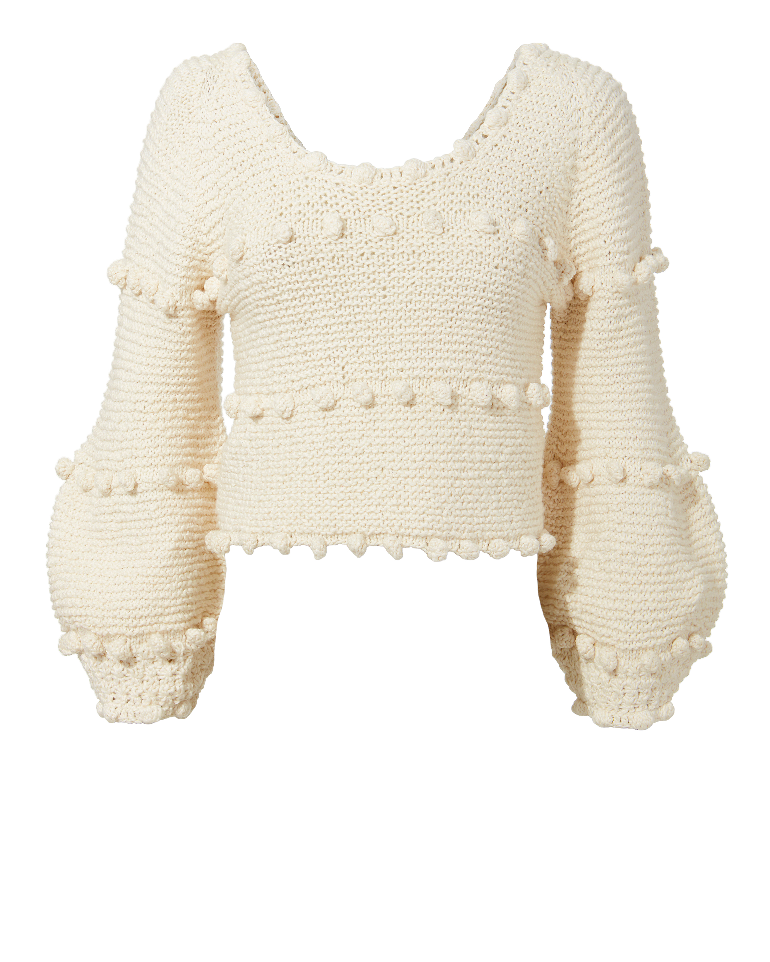 Hyachinth Pom Pom Sweater by Apiece Apart