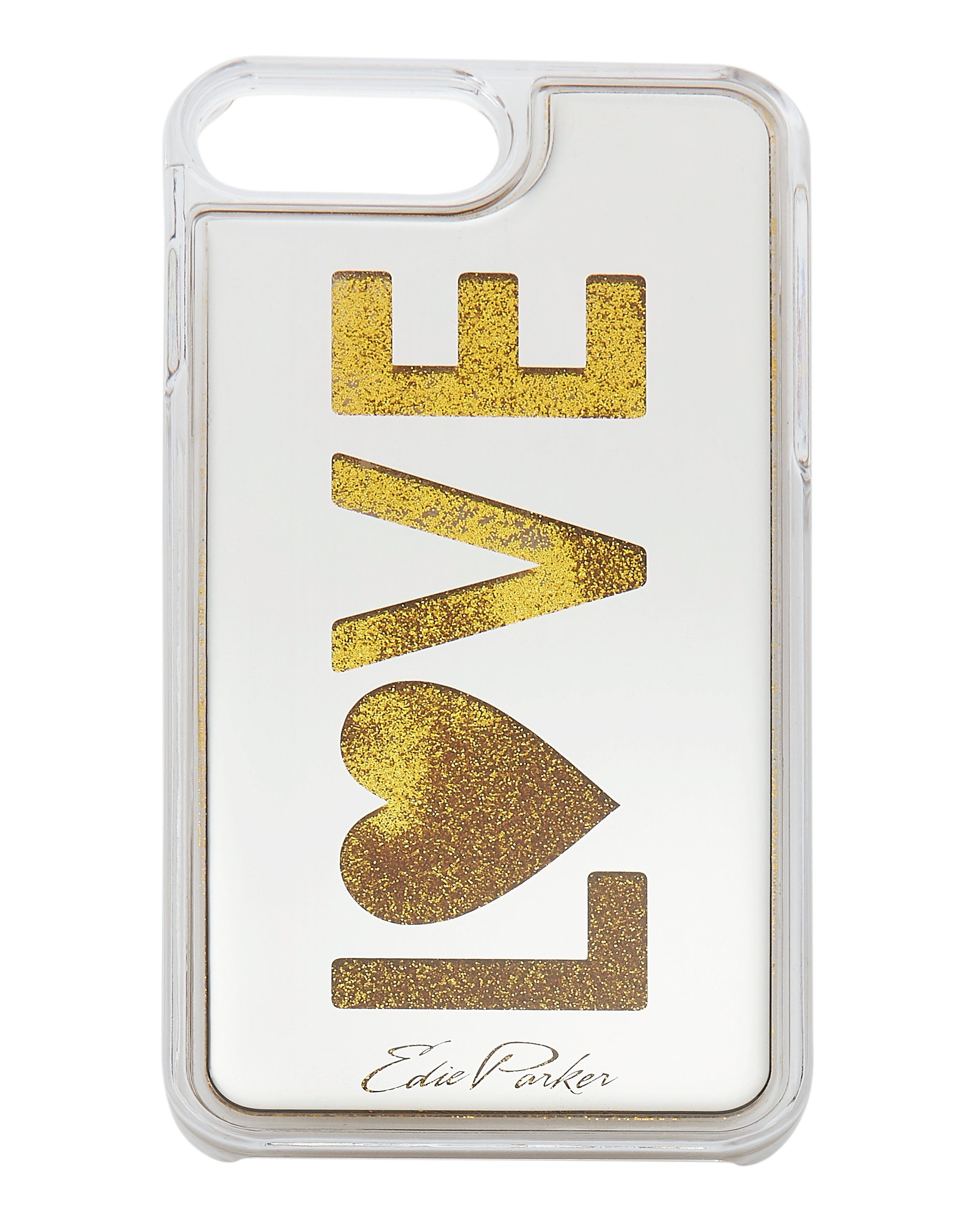 Gold Floating Love Iphone 6 Or 7 Plus Case