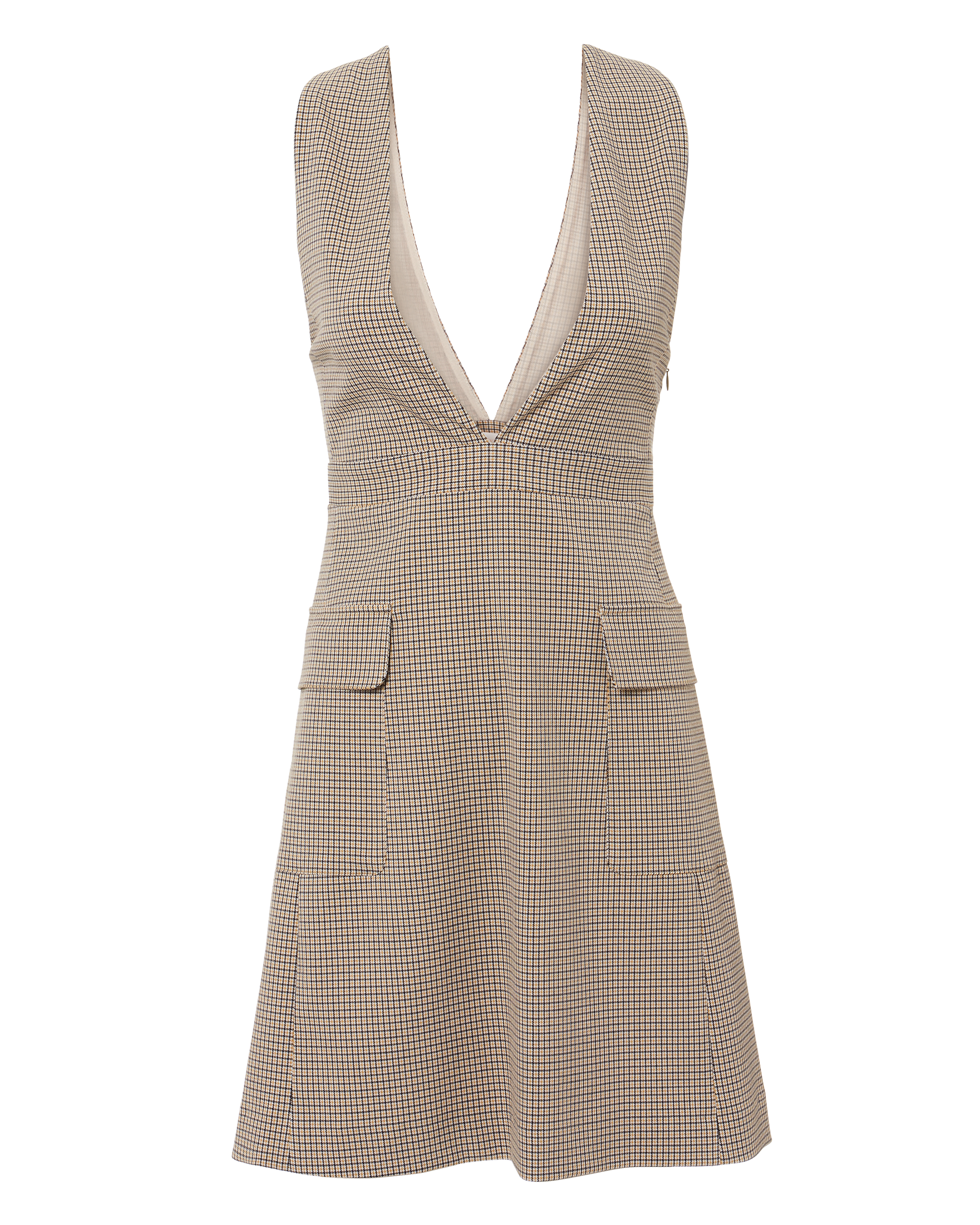 Plaid Mini Dress by See By Chloé