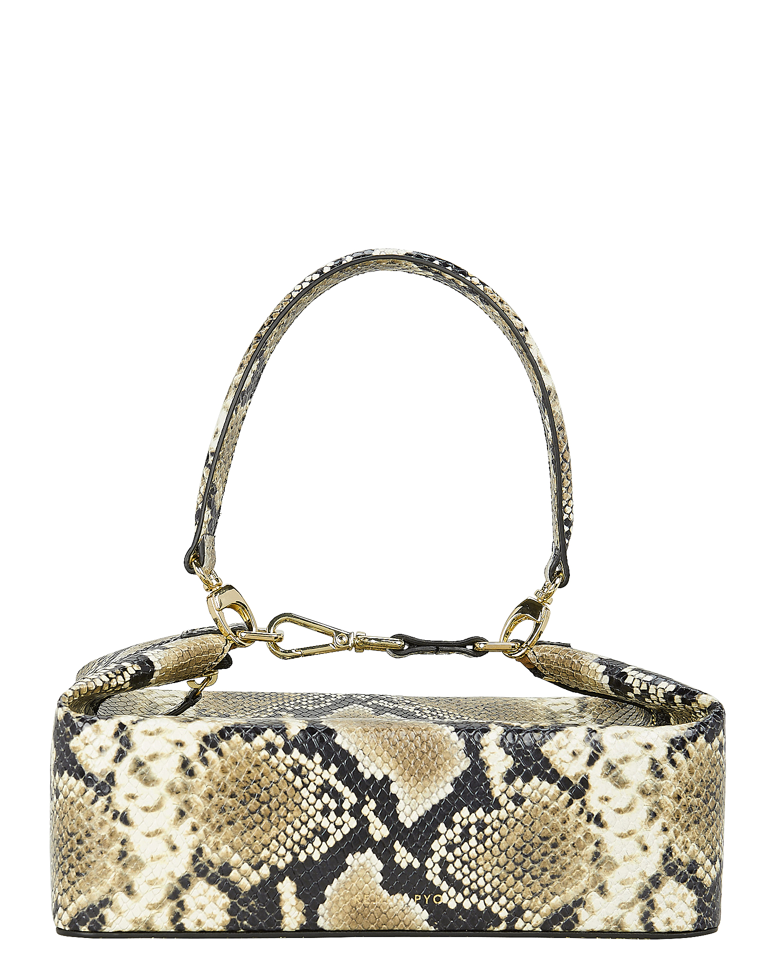Rejina Pyo Bags Olivia Snake-Embossed Leather Bag
