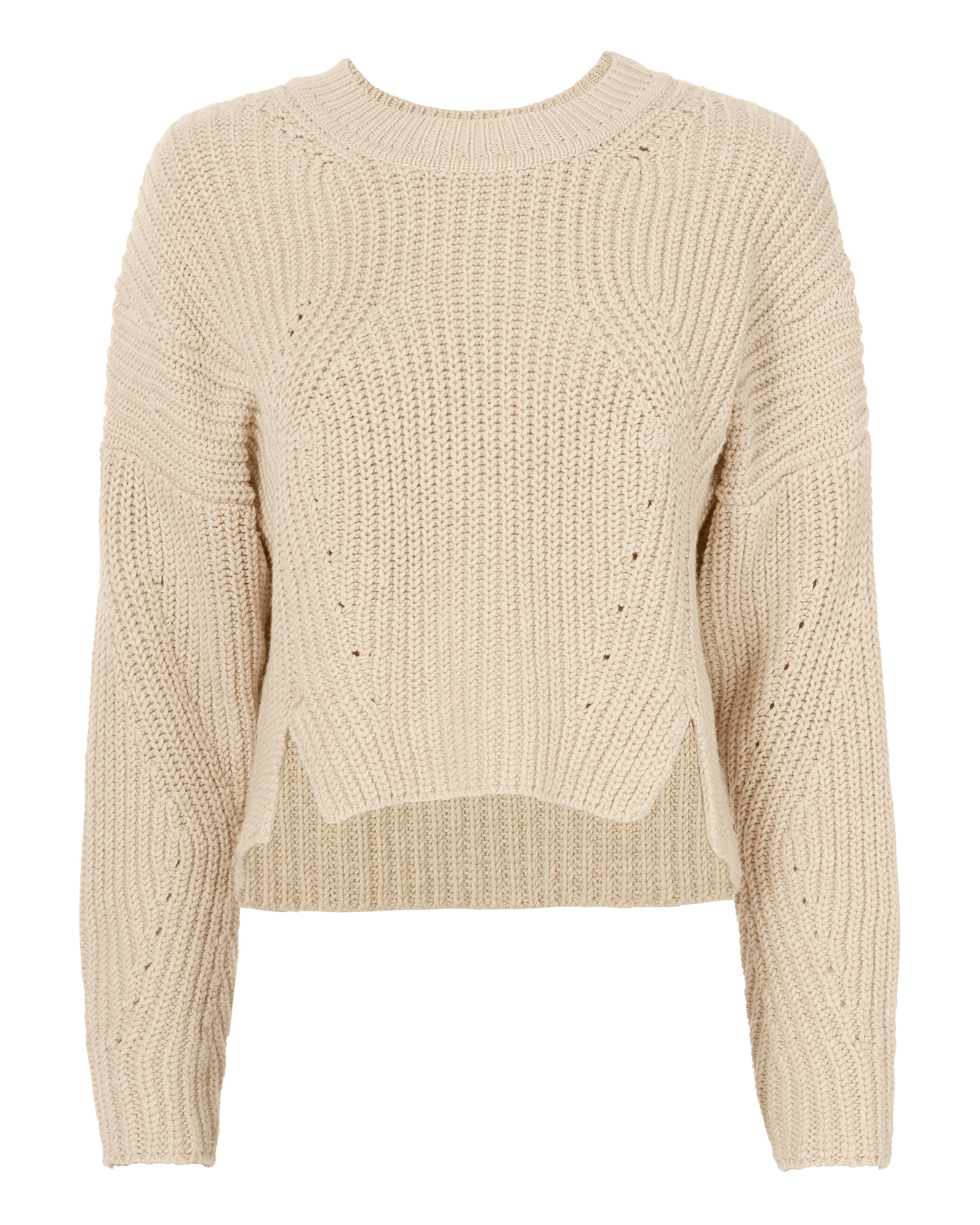 Dinah Rib Knit Sweater by Intermix