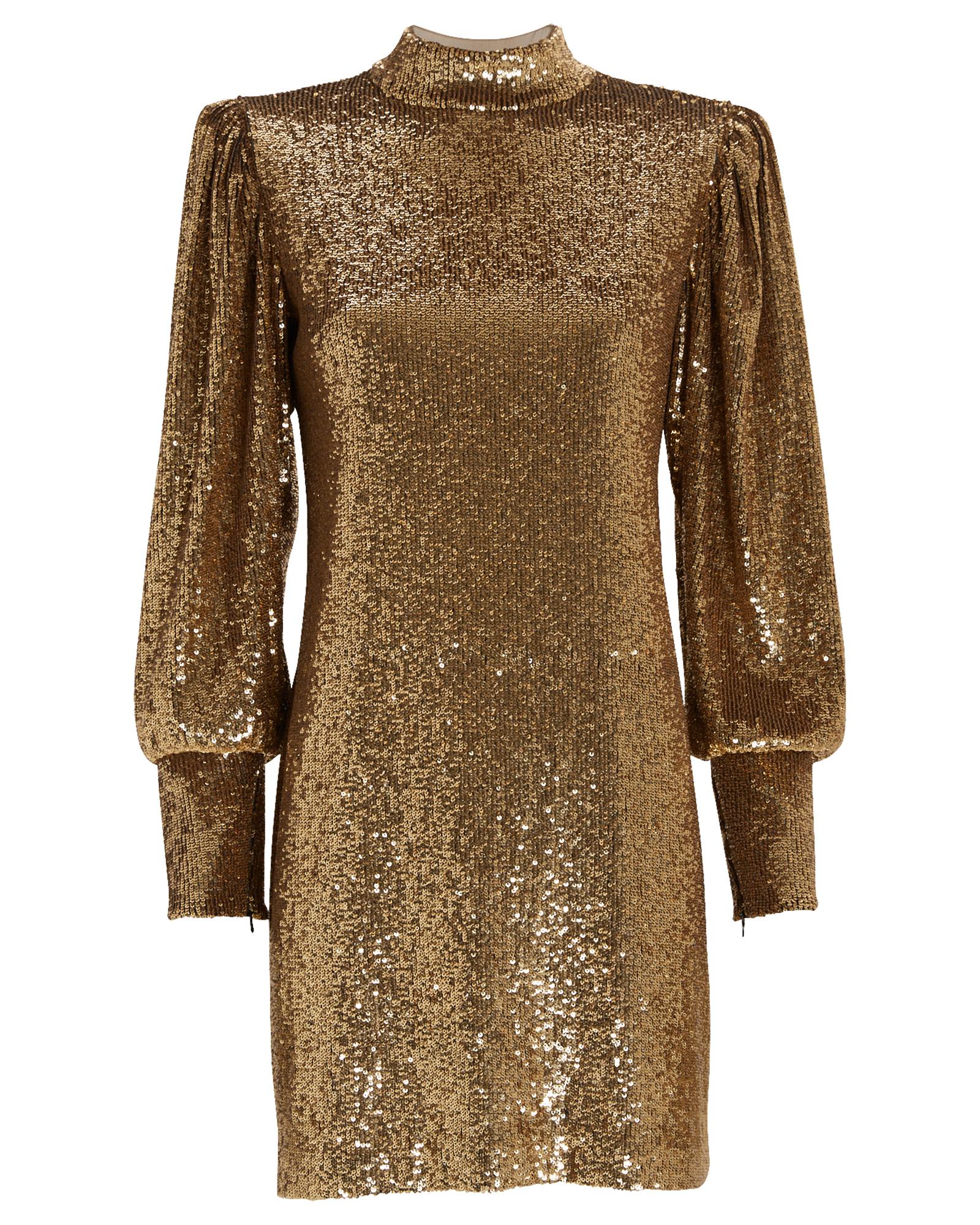 A.l.c Dresses A.L.C. CHRISTY SEQUIN-EMBELLISHED SHIFT DRESS