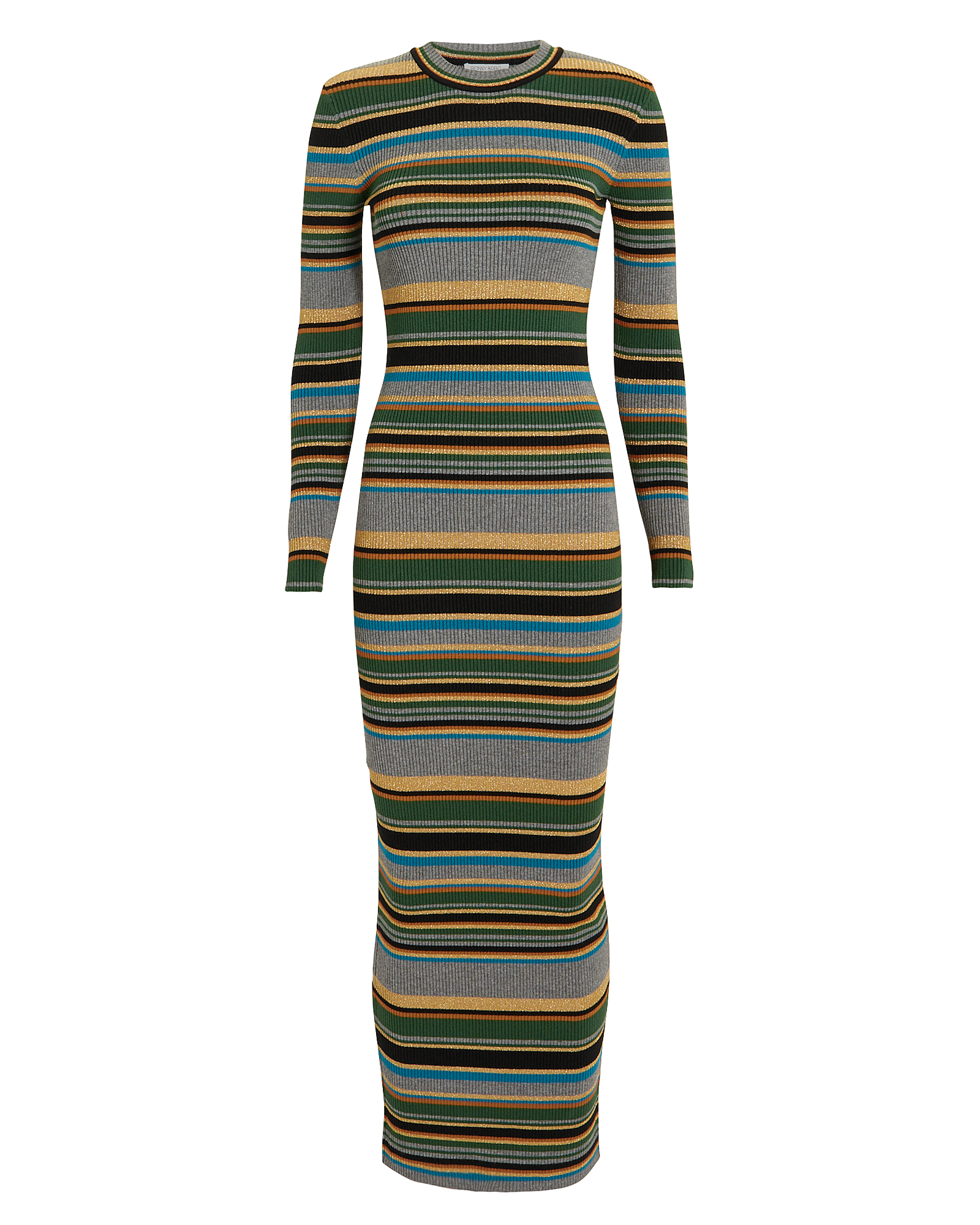 Torn RONNY KOBO TILDA STRIPED DRESS  MULTI P