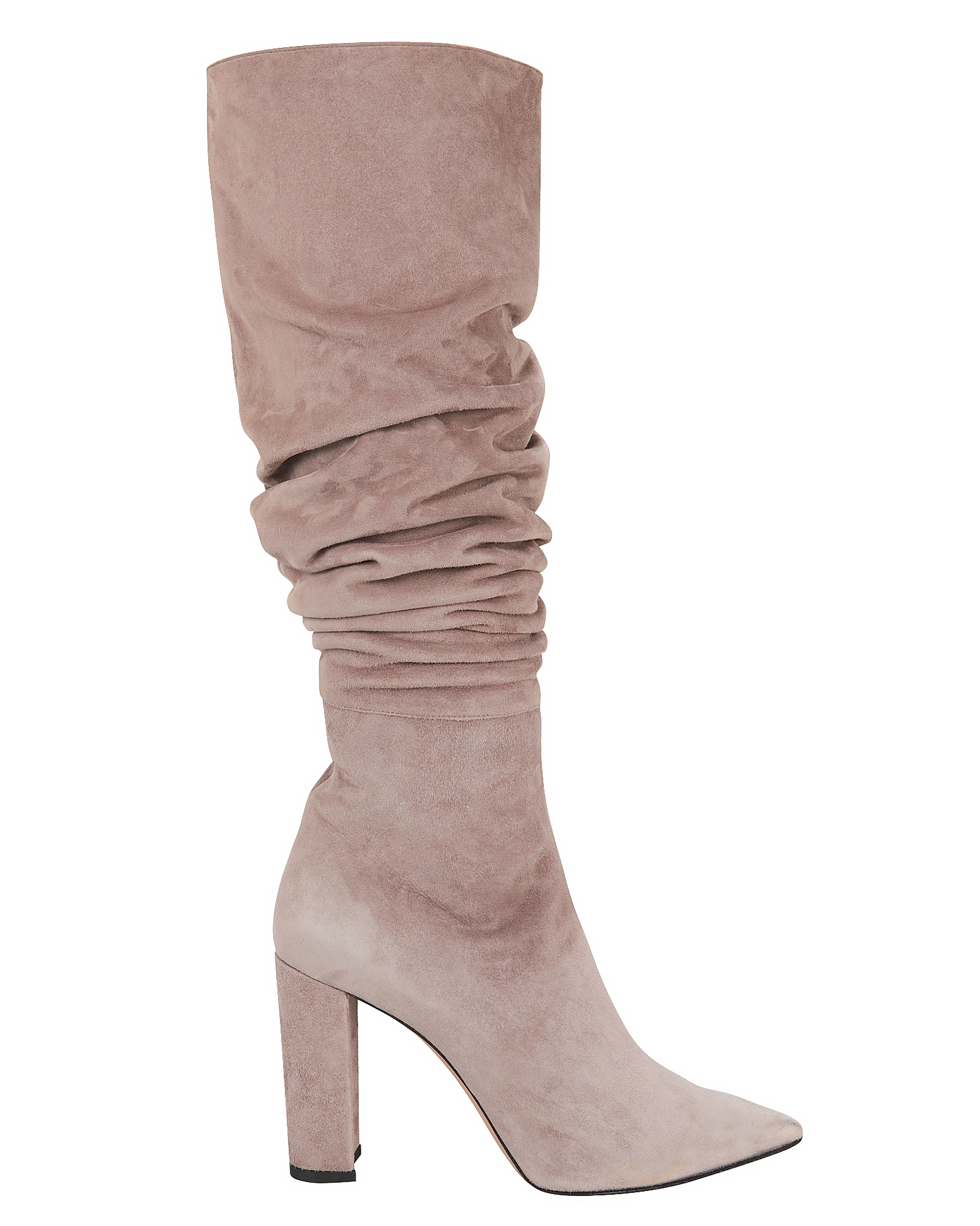 JEAN-MICHEL CAZABAT Kendal Slouchy Grey Boots Grey