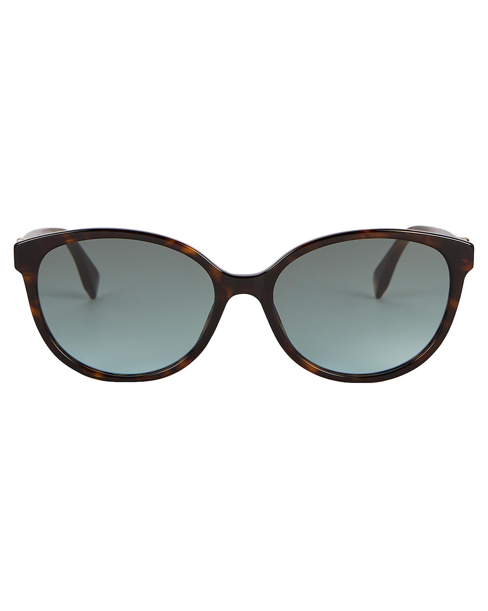 Fendi Sunglasses FENDI HAVANA CAT EYE SUNGLASSES