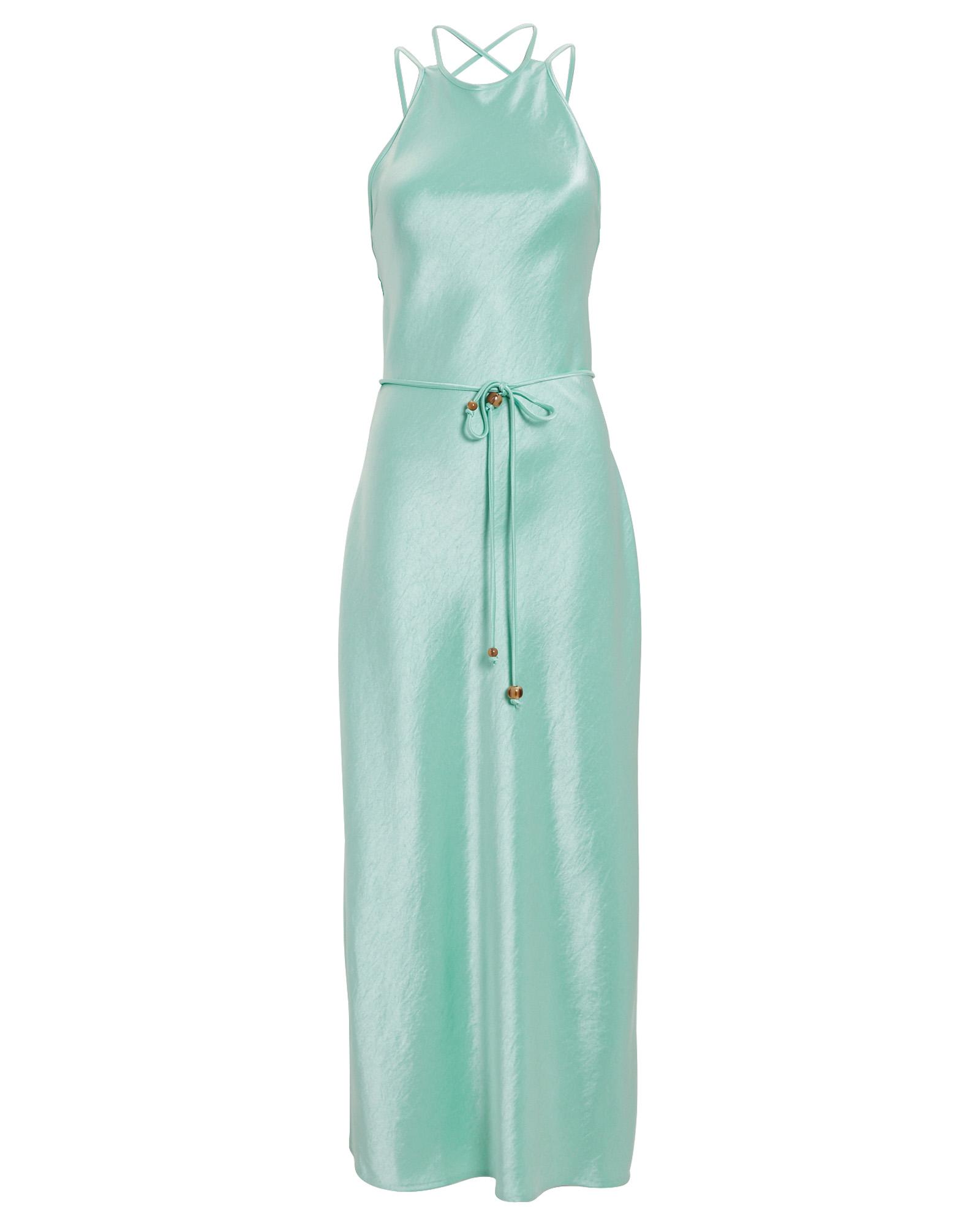 Nanushka Dresses NANUSHKA NARITA BELTED SATIN DRESS