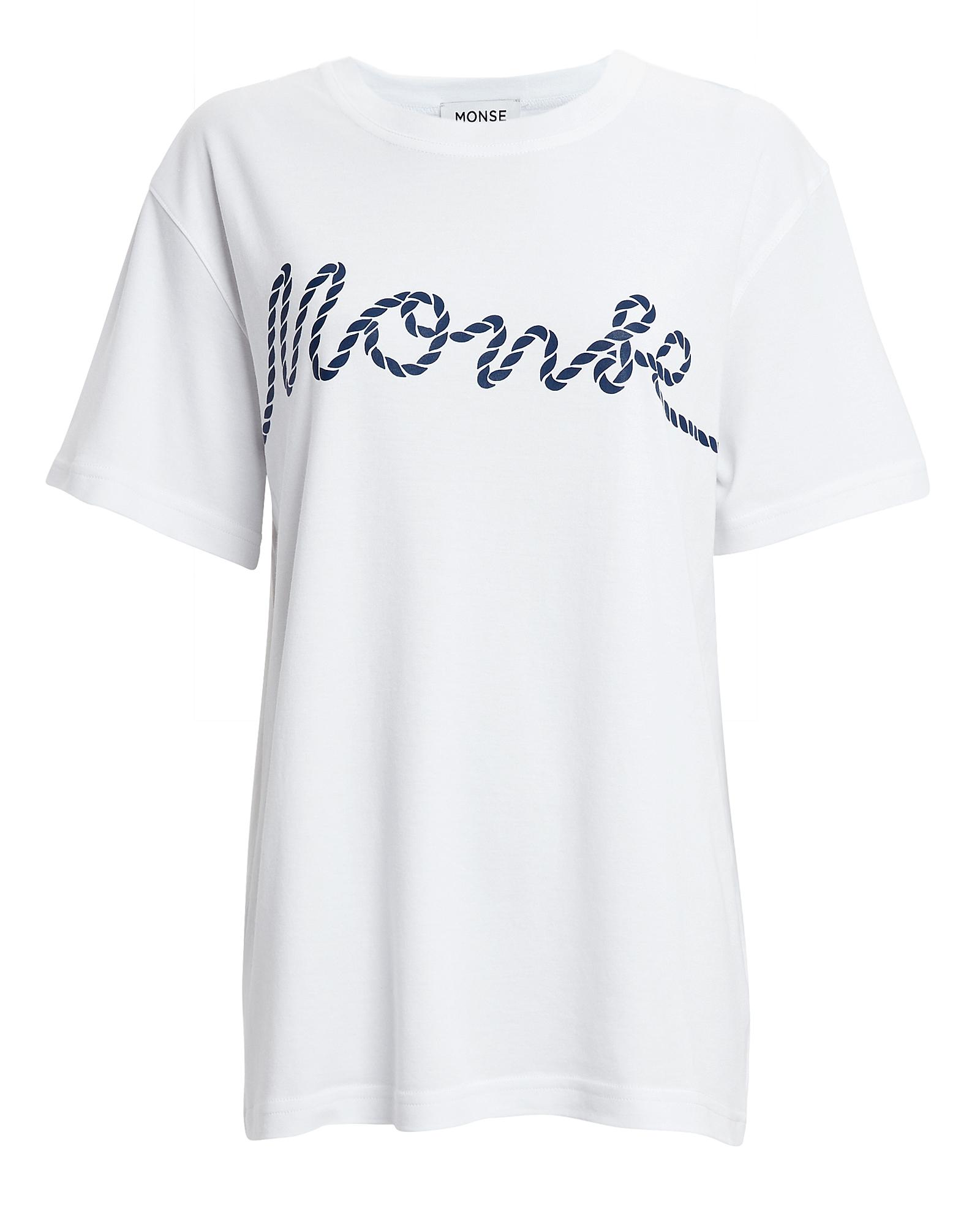 Rope Print T Shirt by Monse