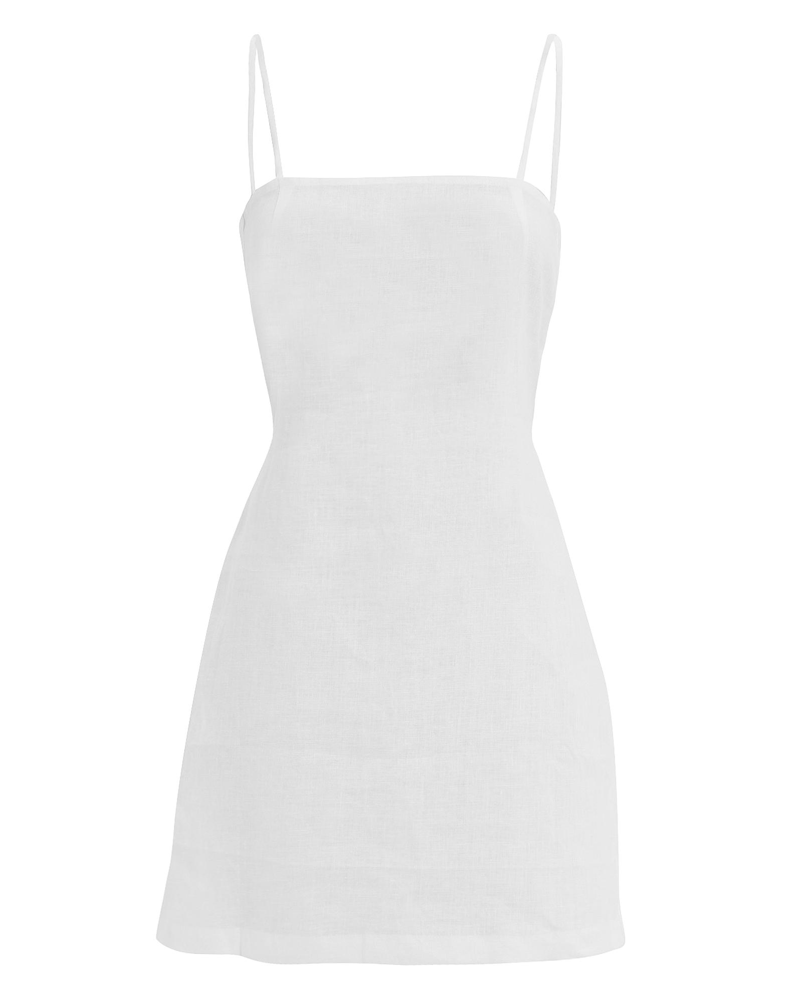 MIKOH SWIM Mikoh Pakala Mini Dress White