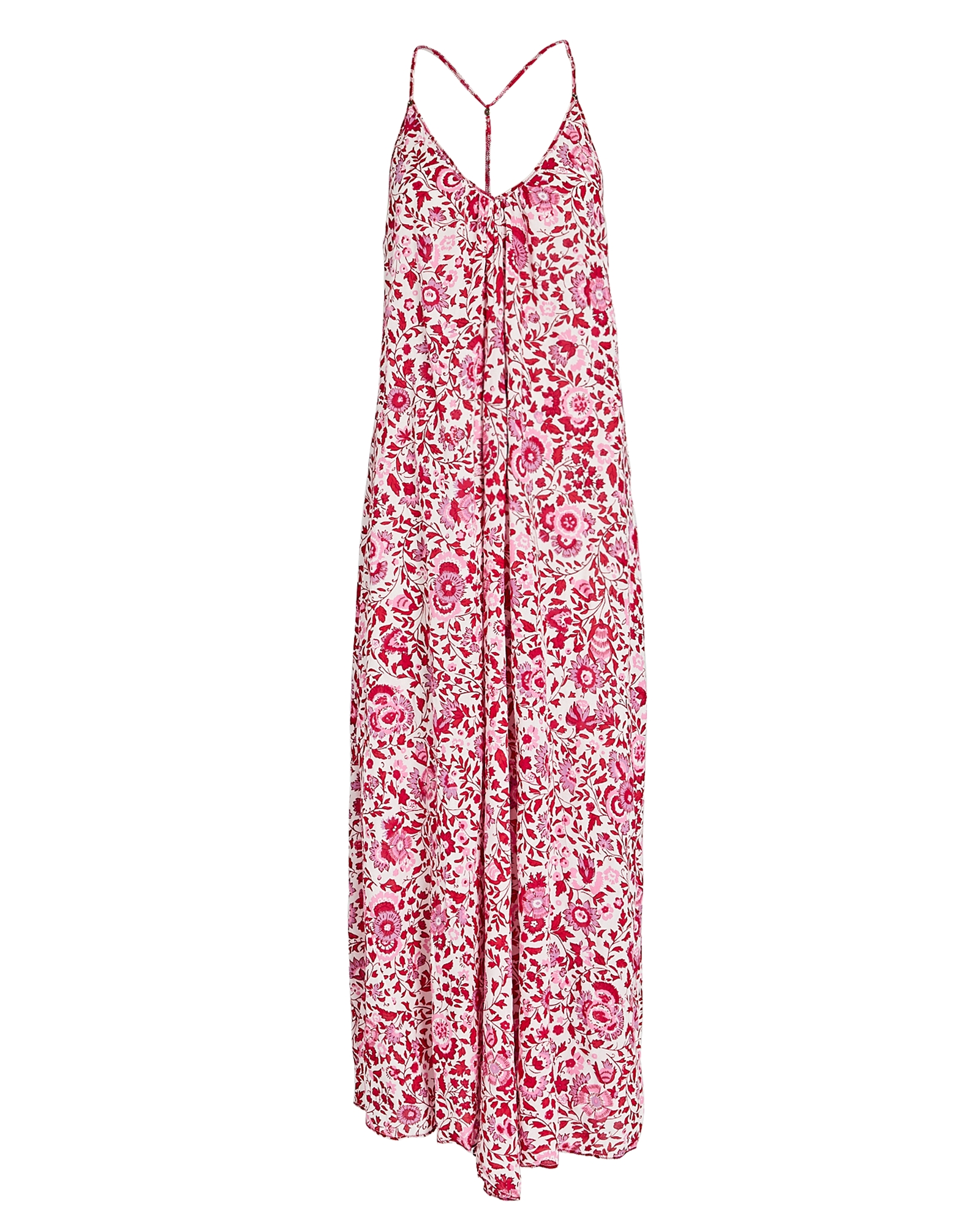Poupette St Barth POUPETTE ST BARTH FELICIA SLEEVELESS FLORAL MAXI DRESS